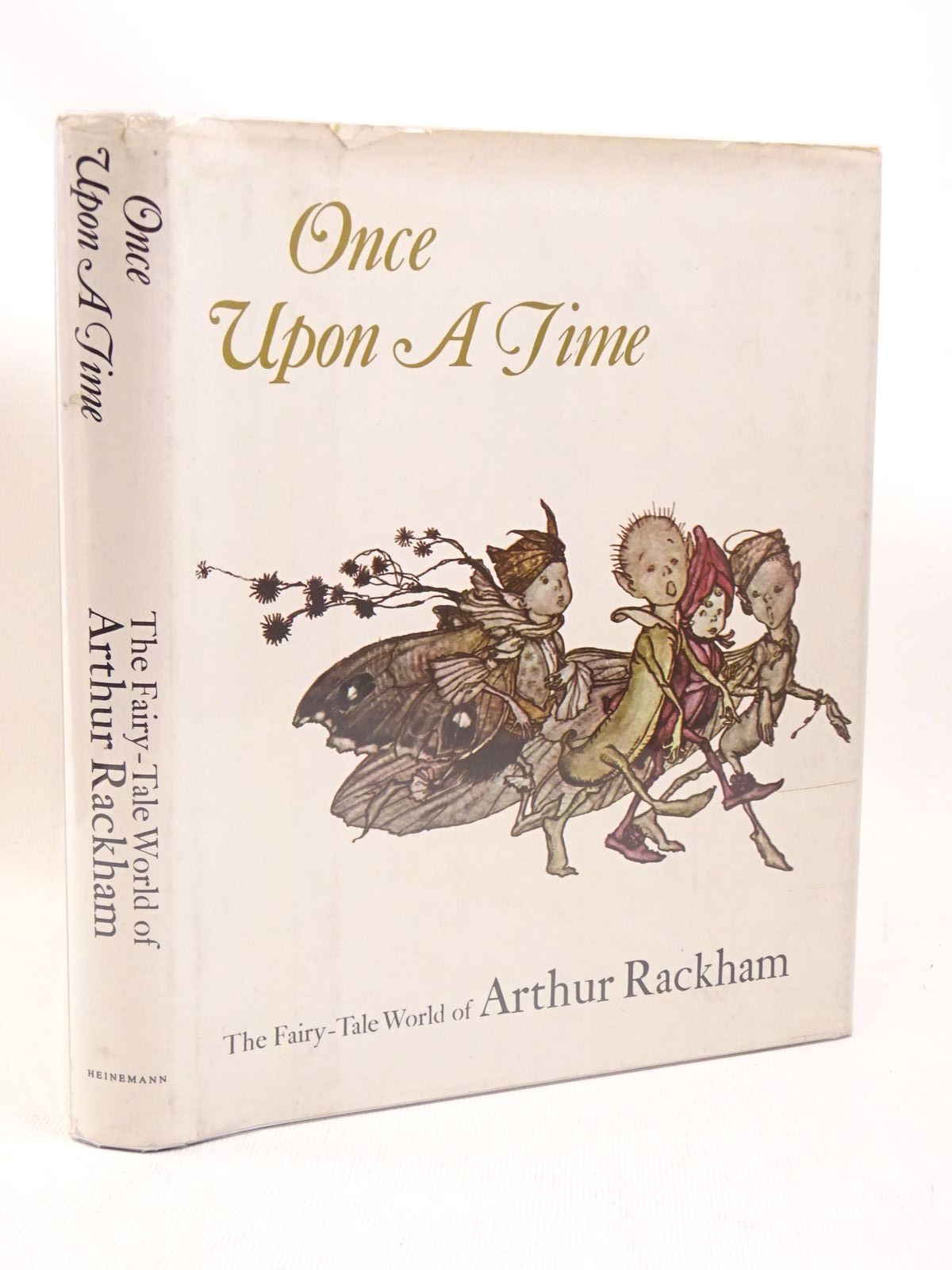 Photo of ONCE UPON A TIME THE FAIRY-TALE WORLD OF ARTHUR RACKHAM written by Darrell, Margery illustrated by Rackham, Arthur published by Heinemann (STOCK CODE: 1317440)  for sale by Stella & Rose's Books