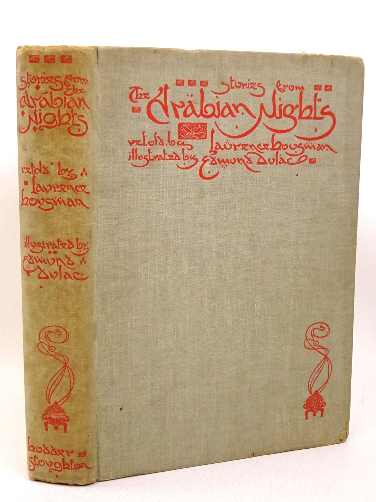 Photo of STORIES FROM THE ARABIAN NIGHTS written by Housman, Laurence illustrated by Dulac, Edmund published by Hodder & Stoughton (STOCK CODE: 1317441)  for sale by Stella & Rose's Books