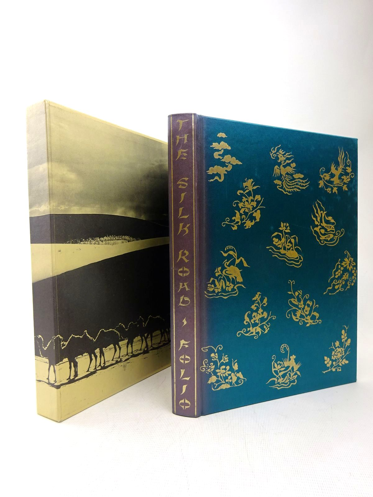 Photo of THE SILK ROAD written by Wood, Frances published by Folio Society (STOCK CODE: 1317477)  for sale by Stella & Rose's Books