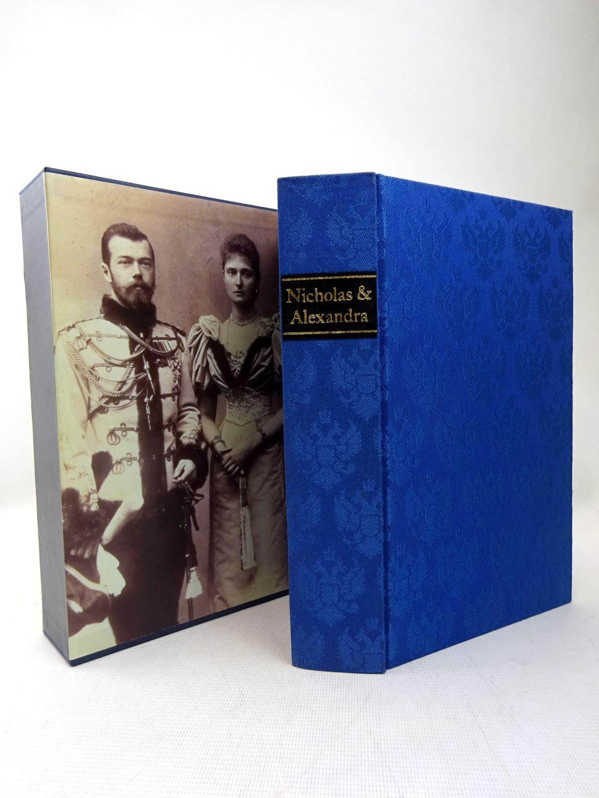 Photo of NICHOLAS AND ALEXANDRA written by Massie, Robert K. published by Folio Society (STOCK CODE: 1317480)  for sale by Stella & Rose's Books
