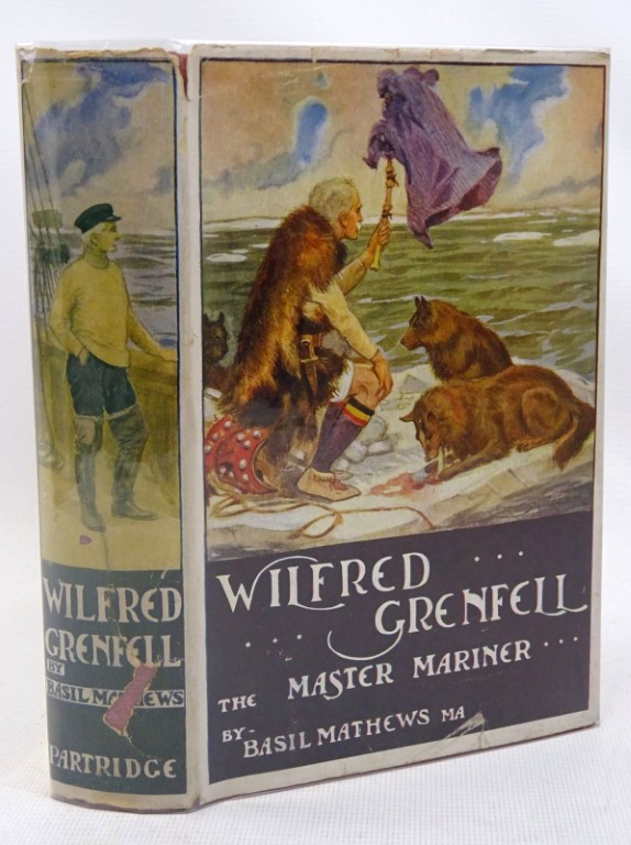 Photo of WILFRED GRENFELL THE MASTER - MARINER written by Mathews, Basil published by Partridge (STOCK CODE: 1317502)  for sale by Stella & Rose's Books