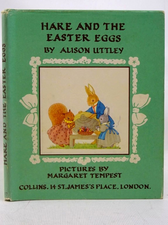 Photo of HARE AND THE EASTER EGGS written by Uttley, Alison illustrated by Tempest, Margaret published by Collins (STOCK CODE: 1317539)  for sale by Stella & Rose's Books