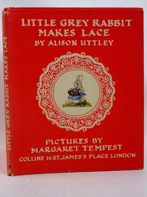 Photo of LITTLE GREY RABBIT MAKES LACE written by Uttley, Alison illustrated by Tempest, Margaret published by Collins (STOCK CODE: 1317543)  for sale by Stella & Rose's Books