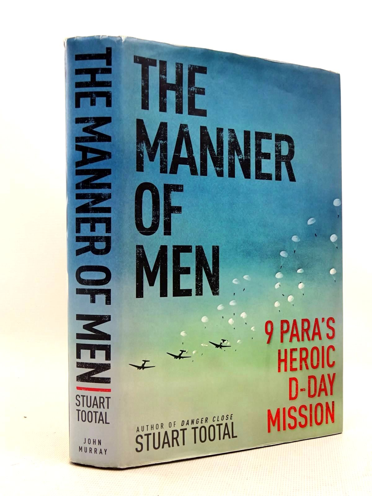 Photo of THE MANNER OF MEN written by Tootal, Stuart published by John Murray (STOCK CODE: 1317563)  for sale by Stella & Rose's Books