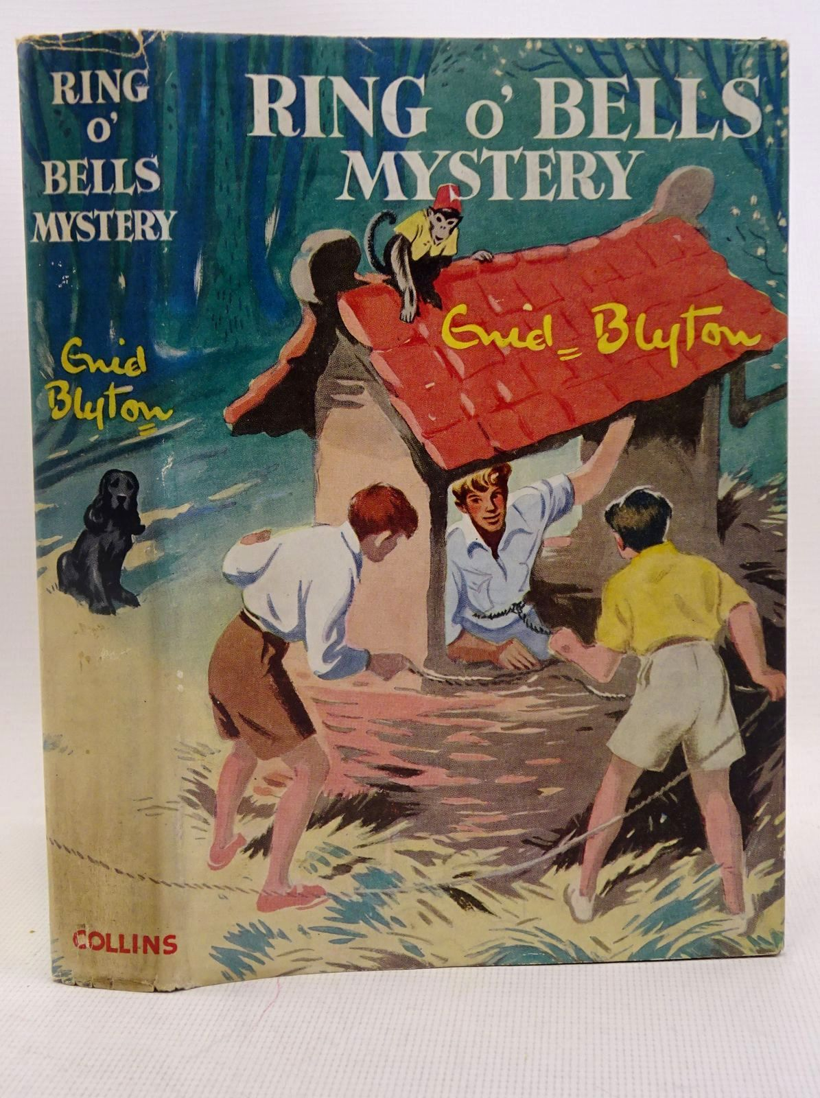 Photo of RING O' BELLS MYSTERY written by Blyton, Enid illustrated by Dunlop, Gilbert published by Collins (STOCK CODE: 1317564)  for sale by Stella & Rose's Books