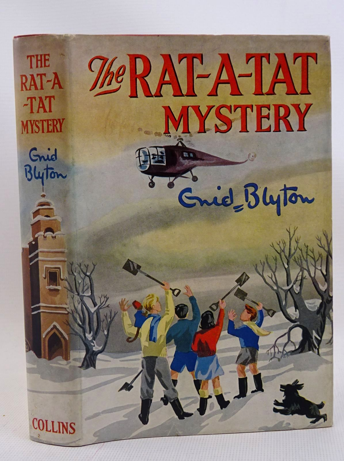 Photo of THE RAT-A-TAT MYSTERY written by Blyton, Enid illustrated by Cook, Anyon published by Collins (STOCK CODE: 1317565)  for sale by Stella & Rose's Books