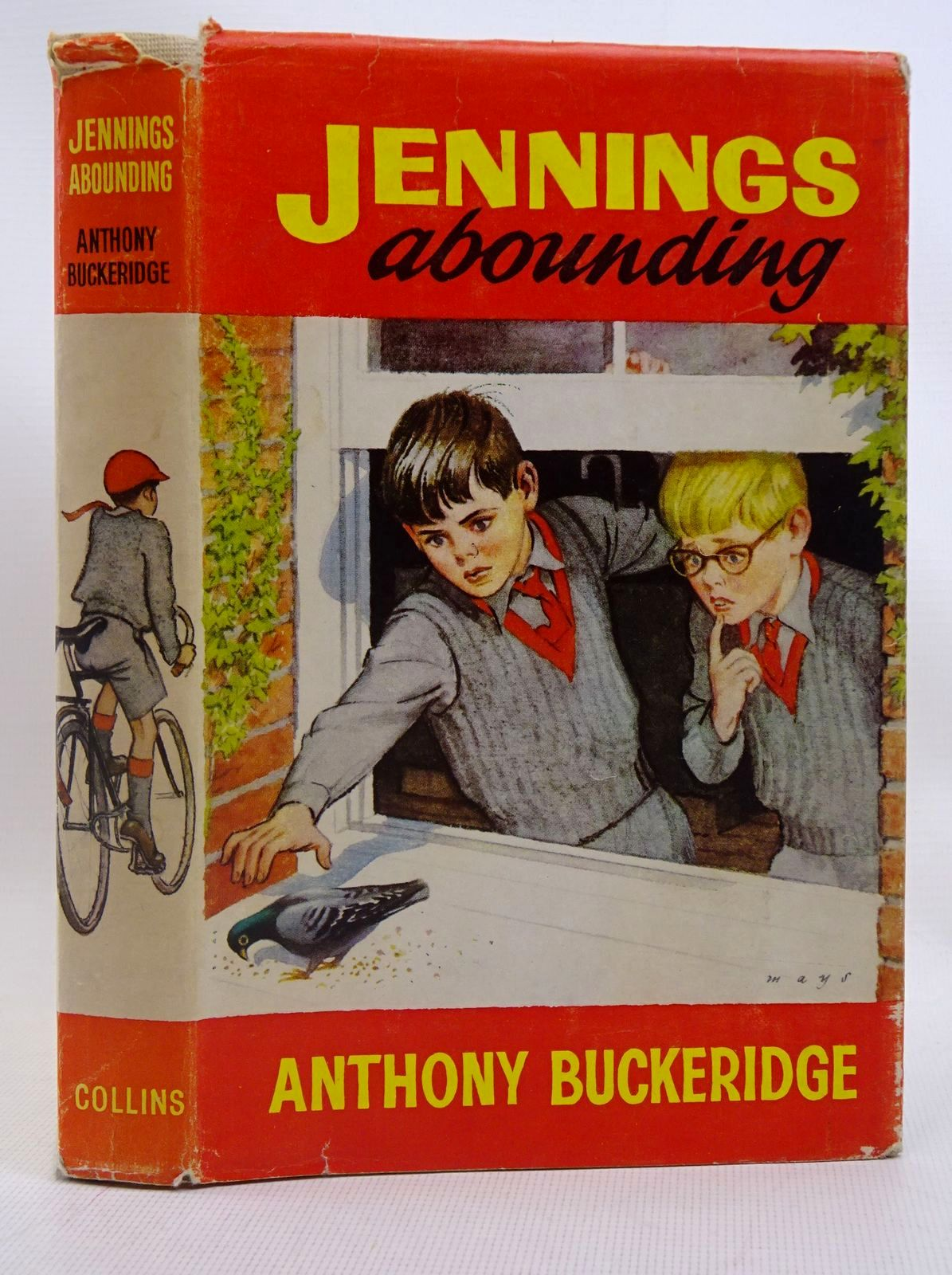 Photo of JENNINGS ABOUNDING written by Buckeridge, Anthony illustrated by Mays,  published by Collins (STOCK CODE: 1317567)  for sale by Stella & Rose's Books