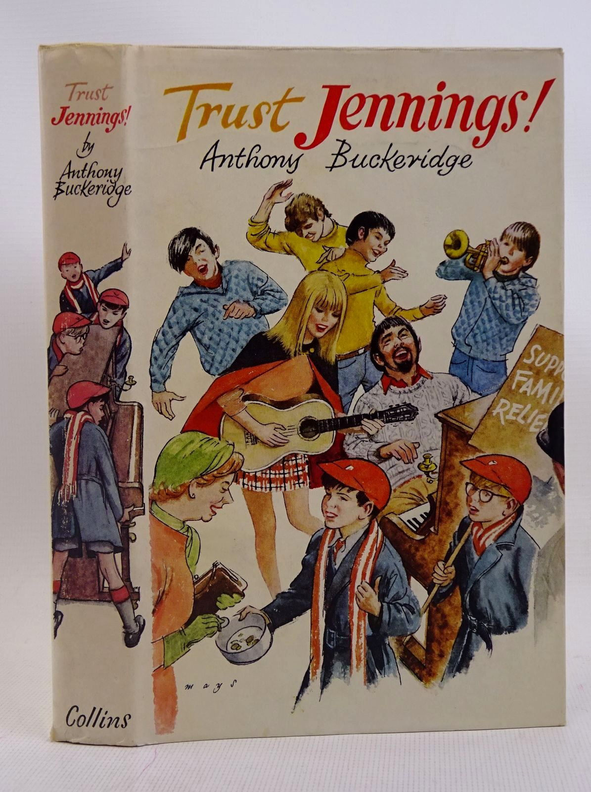 Photo of TRUST JENNINGS! written by Buckeridge, Anthony illustrated by Mays,  published by Collins (STOCK CODE: 1317568)  for sale by Stella & Rose's Books