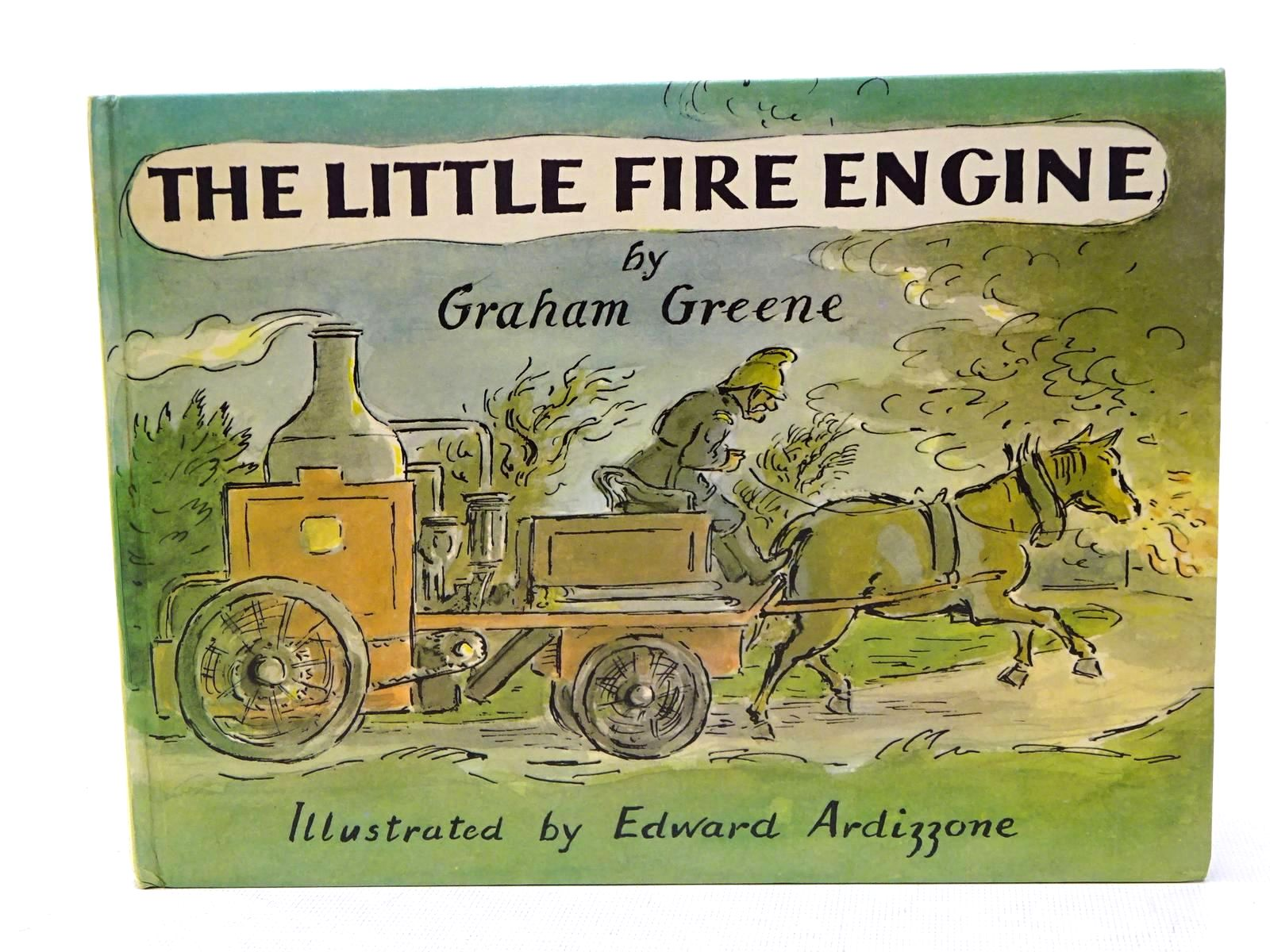 Photo of THE LITTLE FIRE ENGINE written by Greene, Graham illustrated by Ardizzone, Edward published by The Bodley Head (STOCK CODE: 1317585)  for sale by Stella & Rose's Books