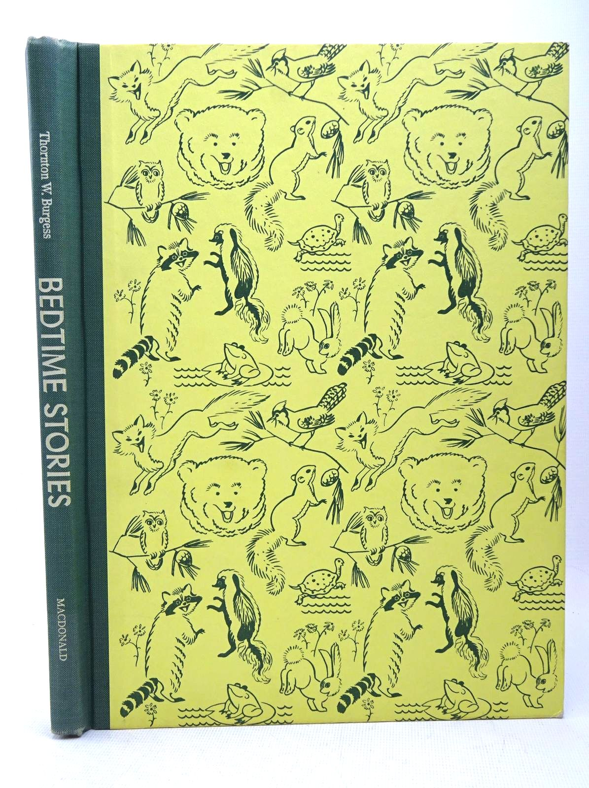 Photo of BEDTIME STORIES written by Burgess, Thornton W. illustrated by Hauge, Carl<br />Hauge, Mary published by MacDonald (STOCK CODE: 1317619)  for sale by Stella & Rose's Books