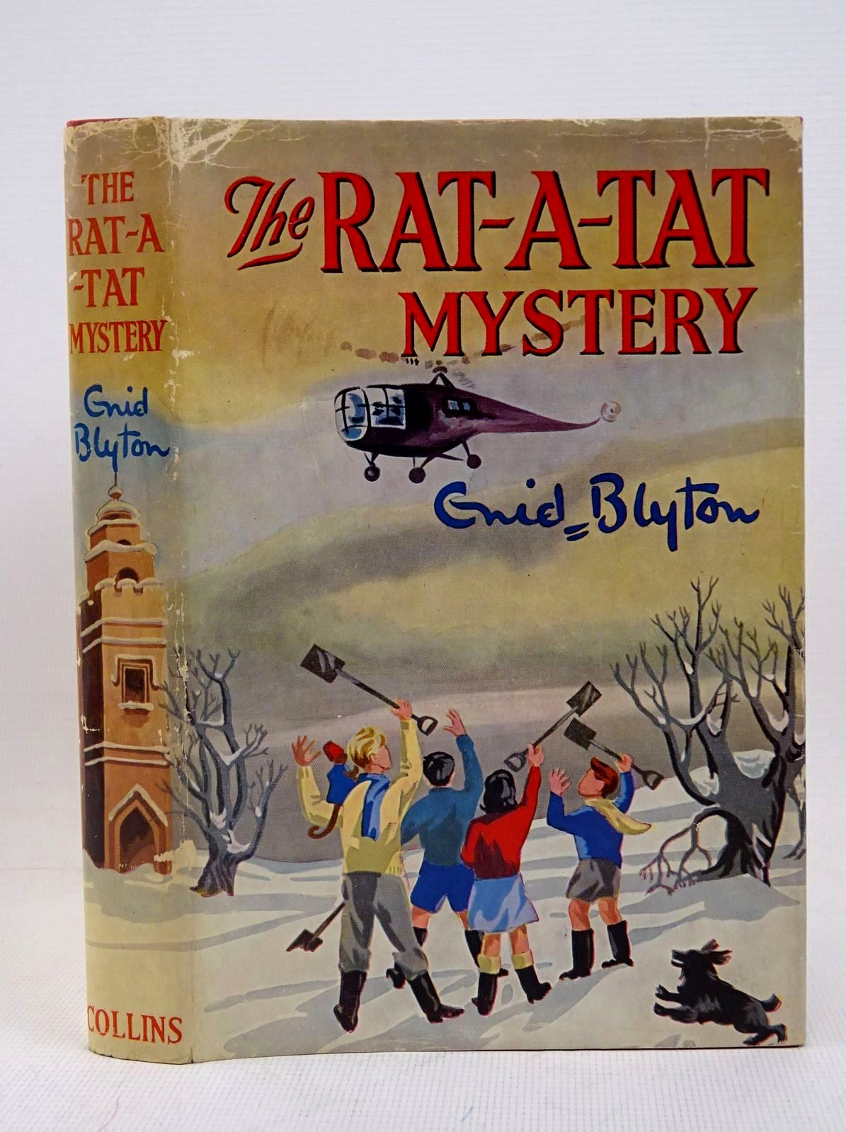 Photo of THE RAT-A-TAT MYSTERY written by Blyton, Enid illustrated by Cook, Anyon published by Collins (STOCK CODE: 1317634)  for sale by Stella & Rose's Books
