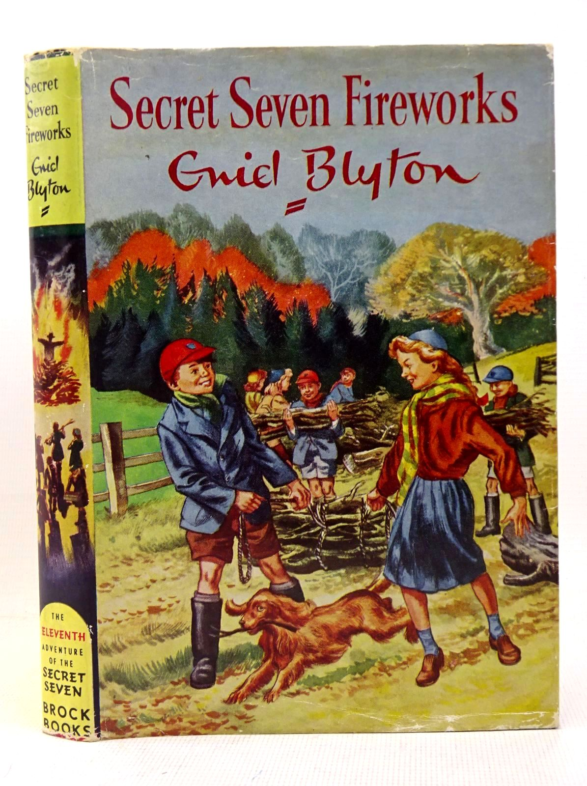 Photo of SECRET SEVEN FIREWORKS written by Blyton, Enid illustrated by Sharrocks, Burgess published by Brockhampton Press (STOCK CODE: 1317646)  for sale by Stella & Rose's Books