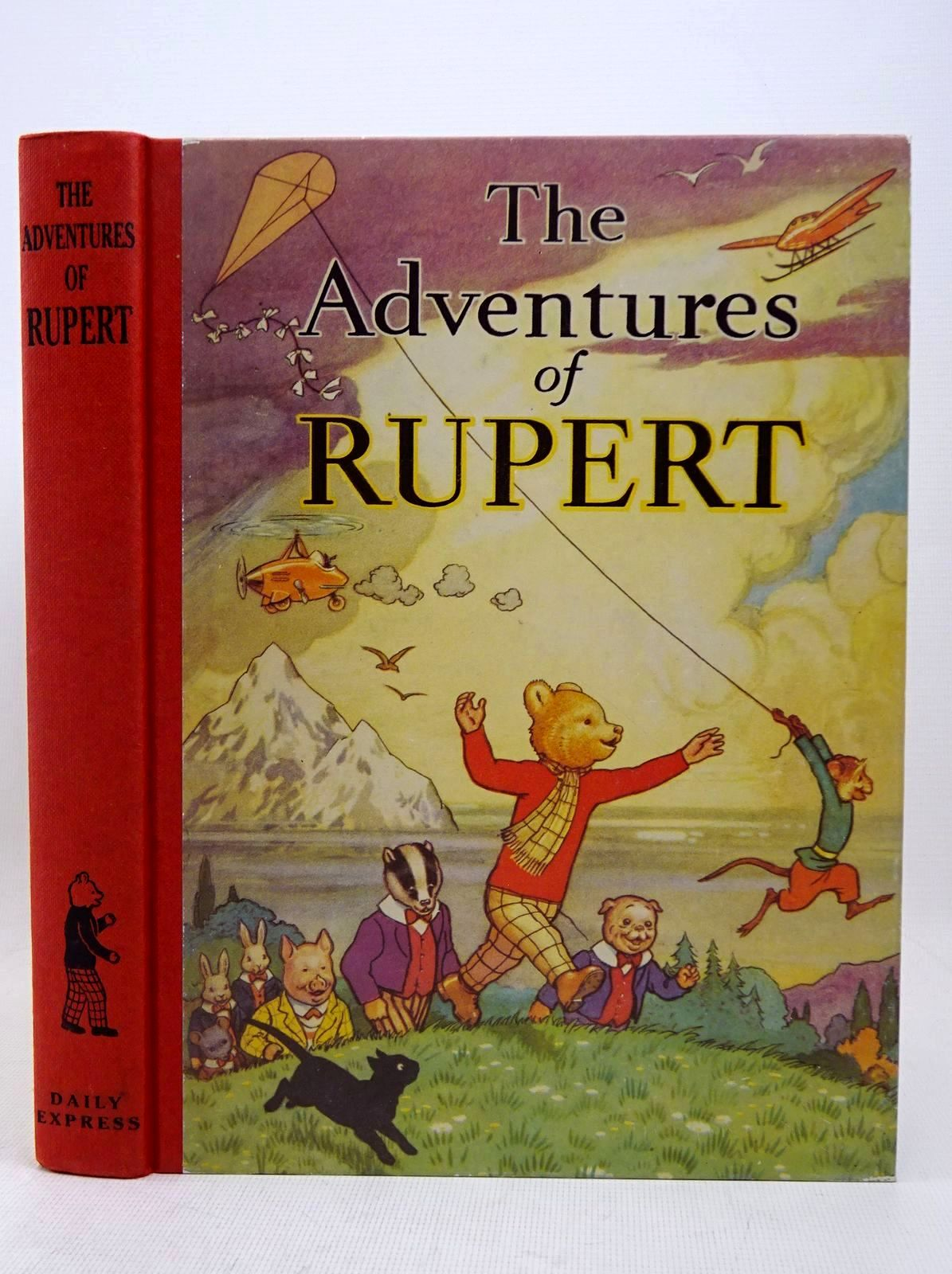 Photo of RUPERT ANNUAL 1939 (FACSIMILE) - THE ADVENTURES OF RUPERT written by Bestall, Alfred illustrated by Bestall, Alfred published by Daily Express (STOCK CODE: 1317658)  for sale by Stella & Rose's Books
