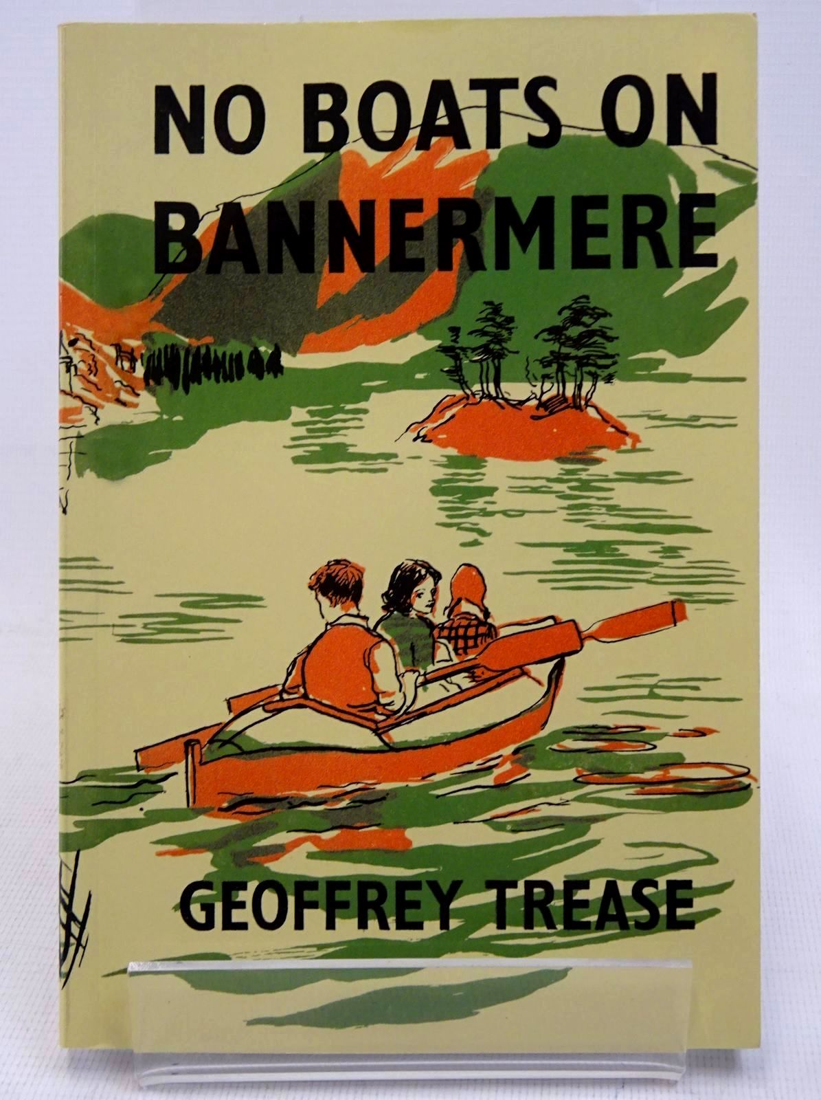 Photo of NO BOATS ON BANNERMERE written by Trease, Geoffrey illustrated by Kennedy, Richard published by Girls Gone By (STOCK CODE: 1317679)  for sale by Stella & Rose's Books