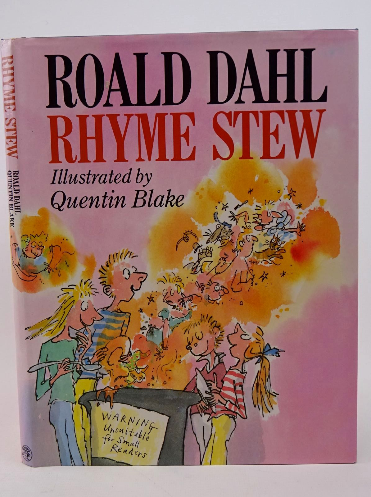 Photo of RHYME STEW written by Dahl, Roald illustrated by Blake, Quentin published by Jonathan Cape (STOCK CODE: 1317713)  for sale by Stella & Rose's Books