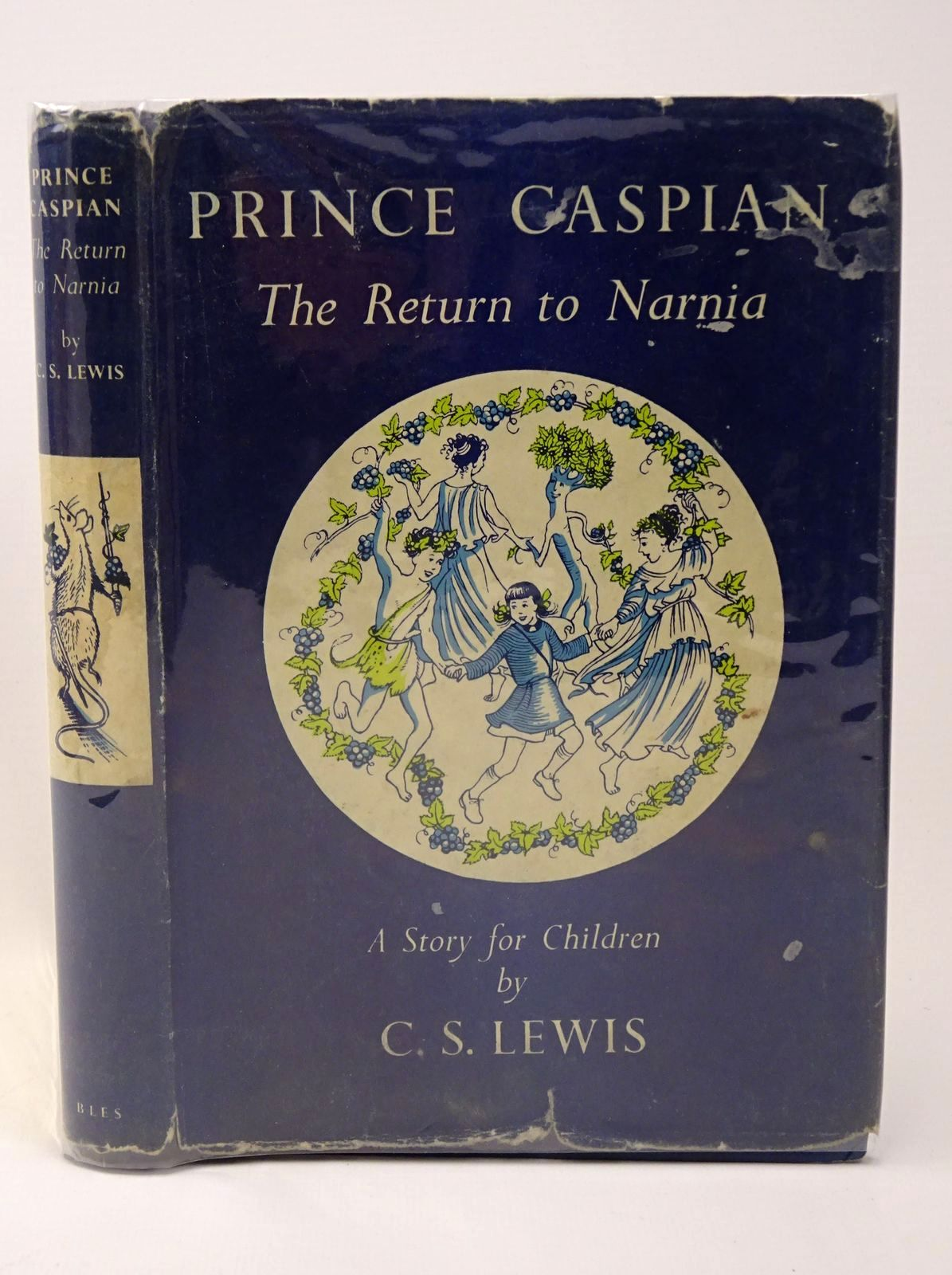 Photo of PRINCE CASPIAN written by Lewis, C.S. illustrated by Baynes, Pauline published by Geoffrey Bles Ltd. (STOCK CODE: 1317728)  for sale by Stella & Rose's Books