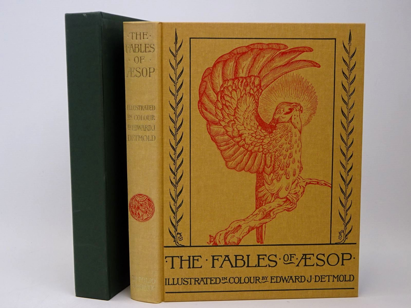 Photo of THE FABLES OF AESOP written by Aesop,  illustrated by Detmold, Edward J. published by Folio Society (STOCK CODE: 1317742)  for sale by Stella & Rose's Books