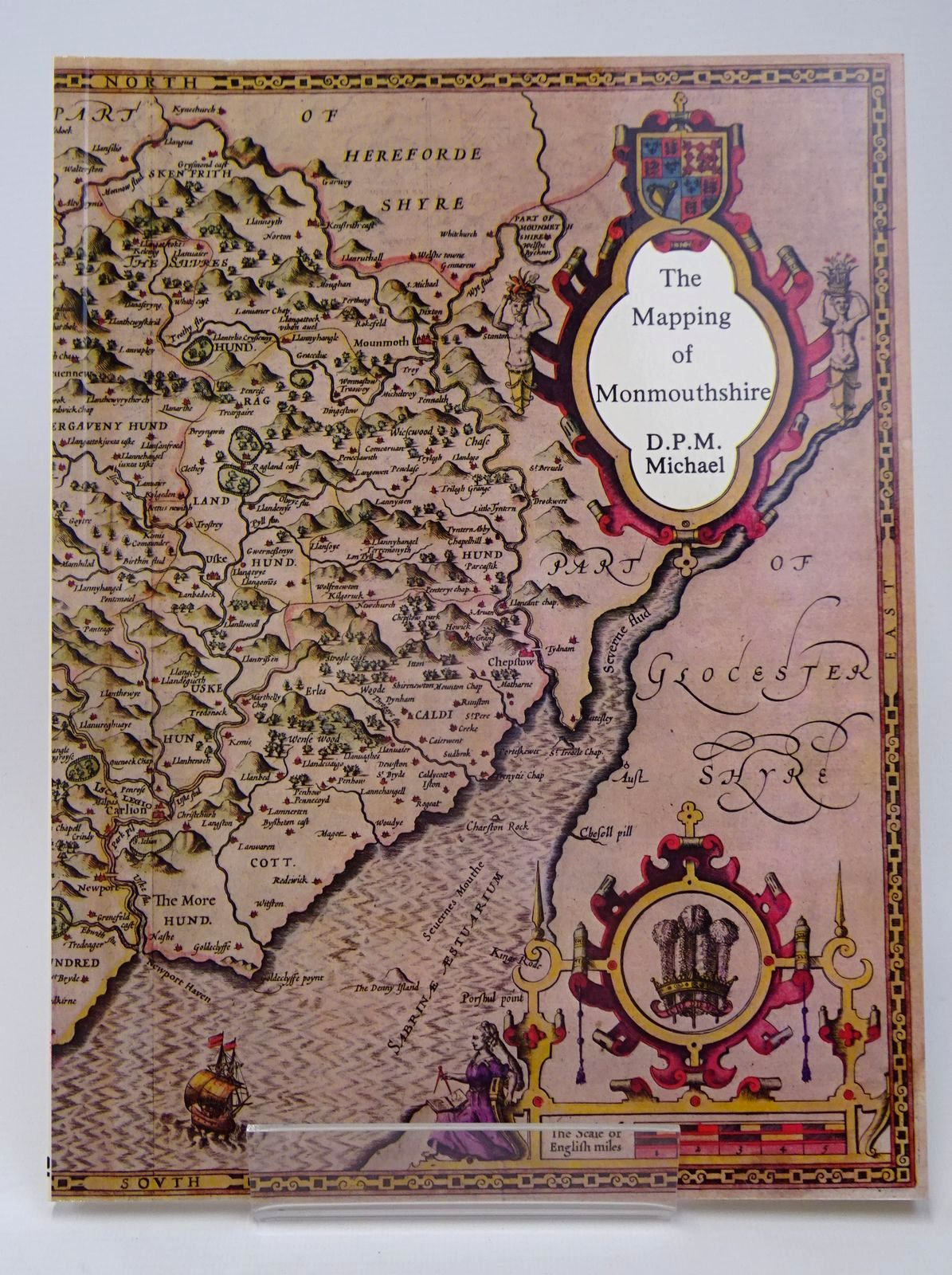 Photo of THE MAPPING OF MONMOUTHSHIRE written by Michael, D.P.M. published by Regional Publications (STOCK CODE: 1317749)  for sale by Stella & Rose's Books