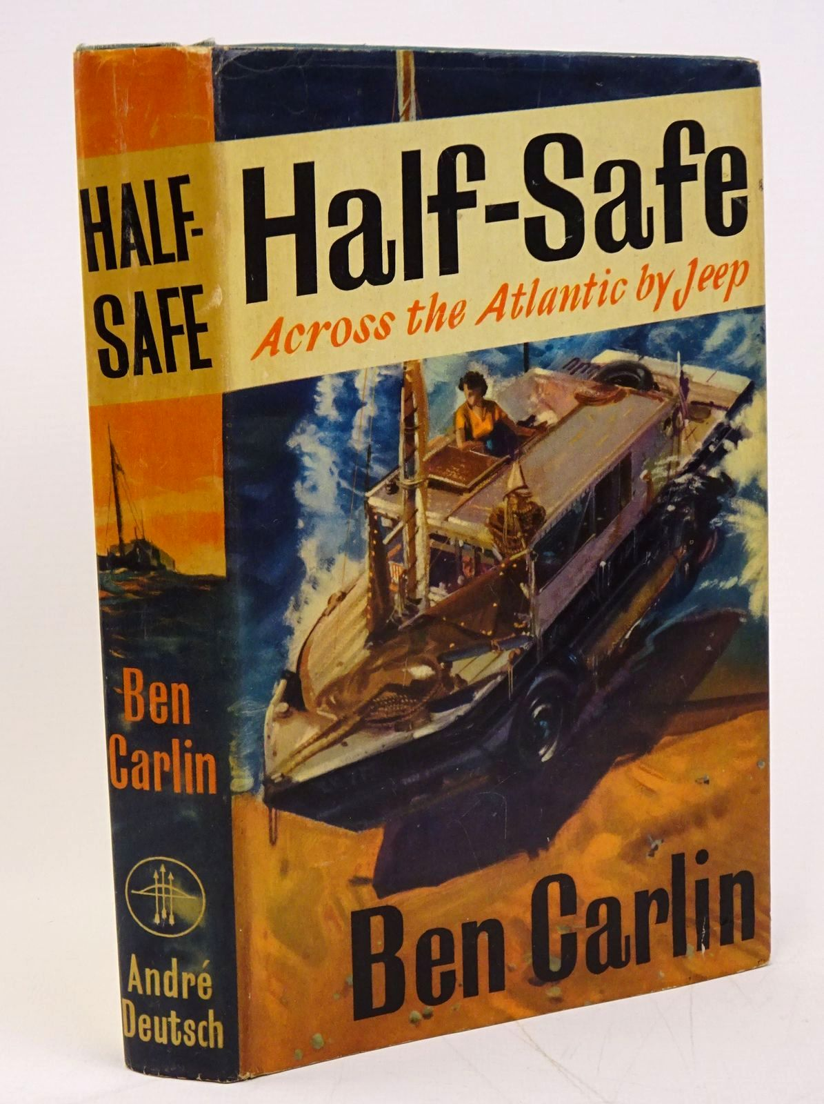 Photo of HALF-SAFE written by Carlin, Ben published by Andre Deutsch (STOCK CODE: 1317772)  for sale by Stella & Rose's Books