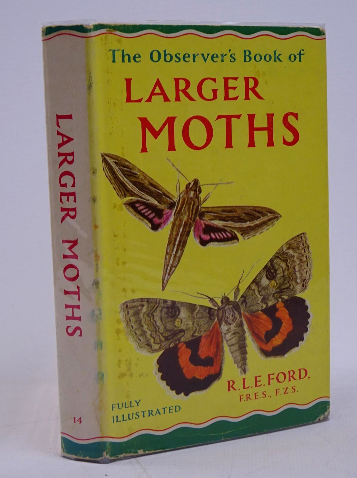 Photo of THE OBSERVER'S BOOK OF LARGER MOTHS written by Ford, R.L.E. published by Frederick Warne & Co Ltd. (STOCK CODE: 1317777)  for sale by Stella & Rose's Books