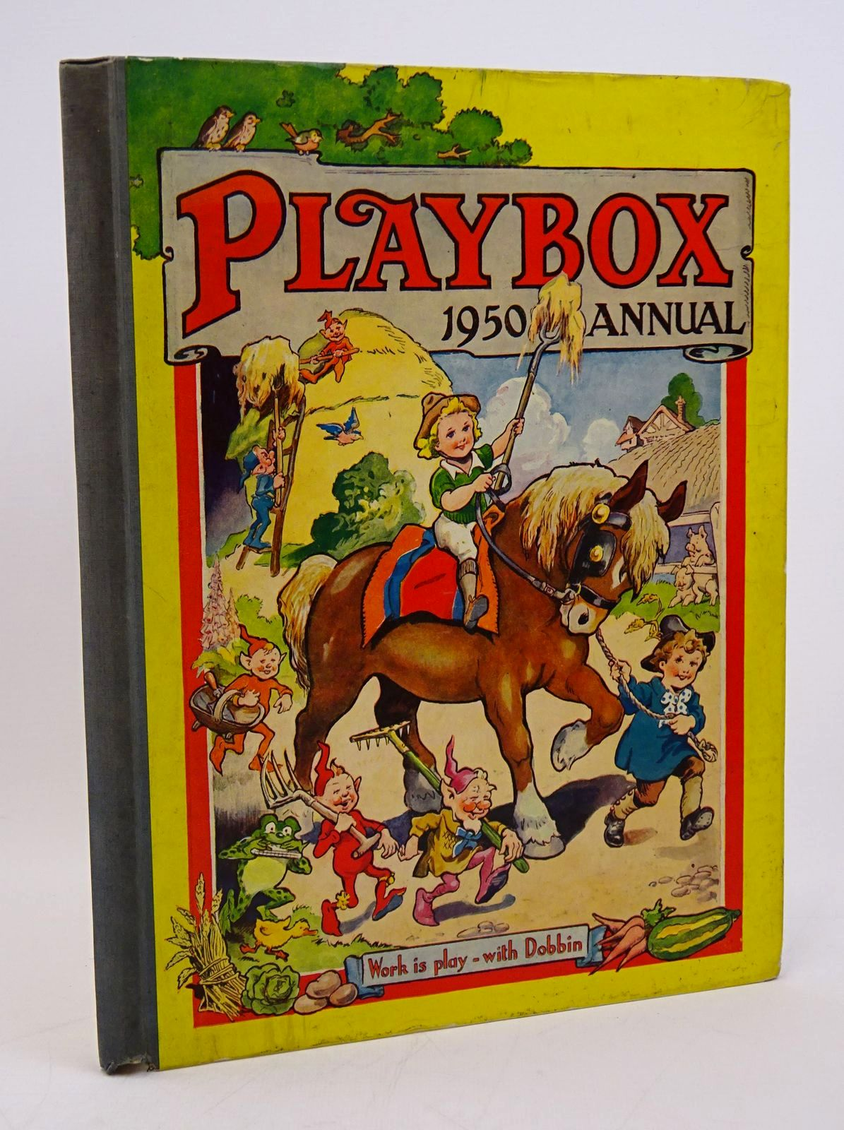 Photo of PLAYBOX ANNUAL 1950 published by The Amalgamated Press (STOCK CODE: 1317794)  for sale by Stella & Rose's Books