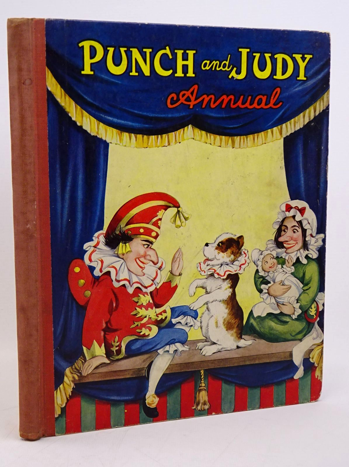 Photo of PUNCH AND JUDY ANNUAL illustrated by Cloke, Rene published by Juvenile Productions Ltd. (STOCK CODE: 1317795)  for sale by Stella & Rose's Books