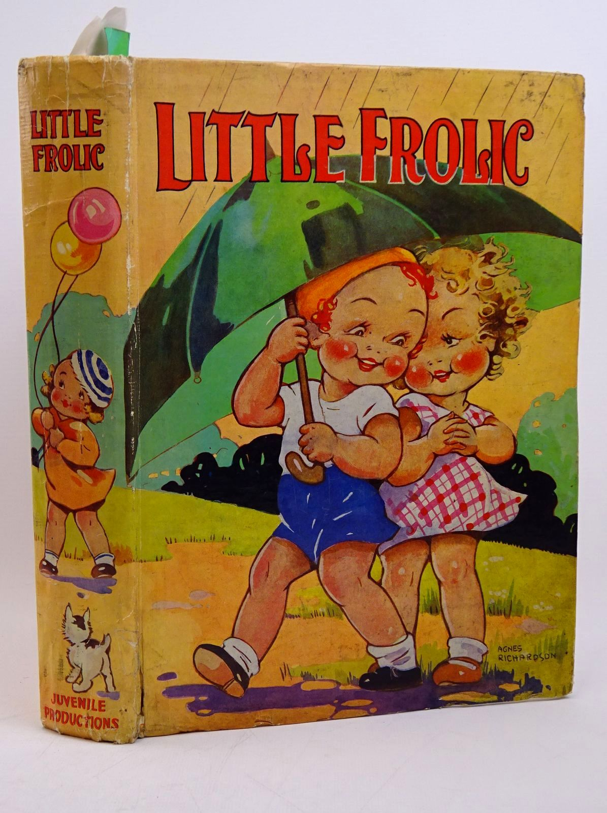 Photo of LITTLE FROLIC illustrated by Wain, Louis<br />Aris, Ernest A.<br />Richardson, Agnes<br />Cowham, Hilda<br />et al., published by Juvenile Productions Ltd. (STOCK CODE: 1317799)  for sale by Stella & Rose's Books