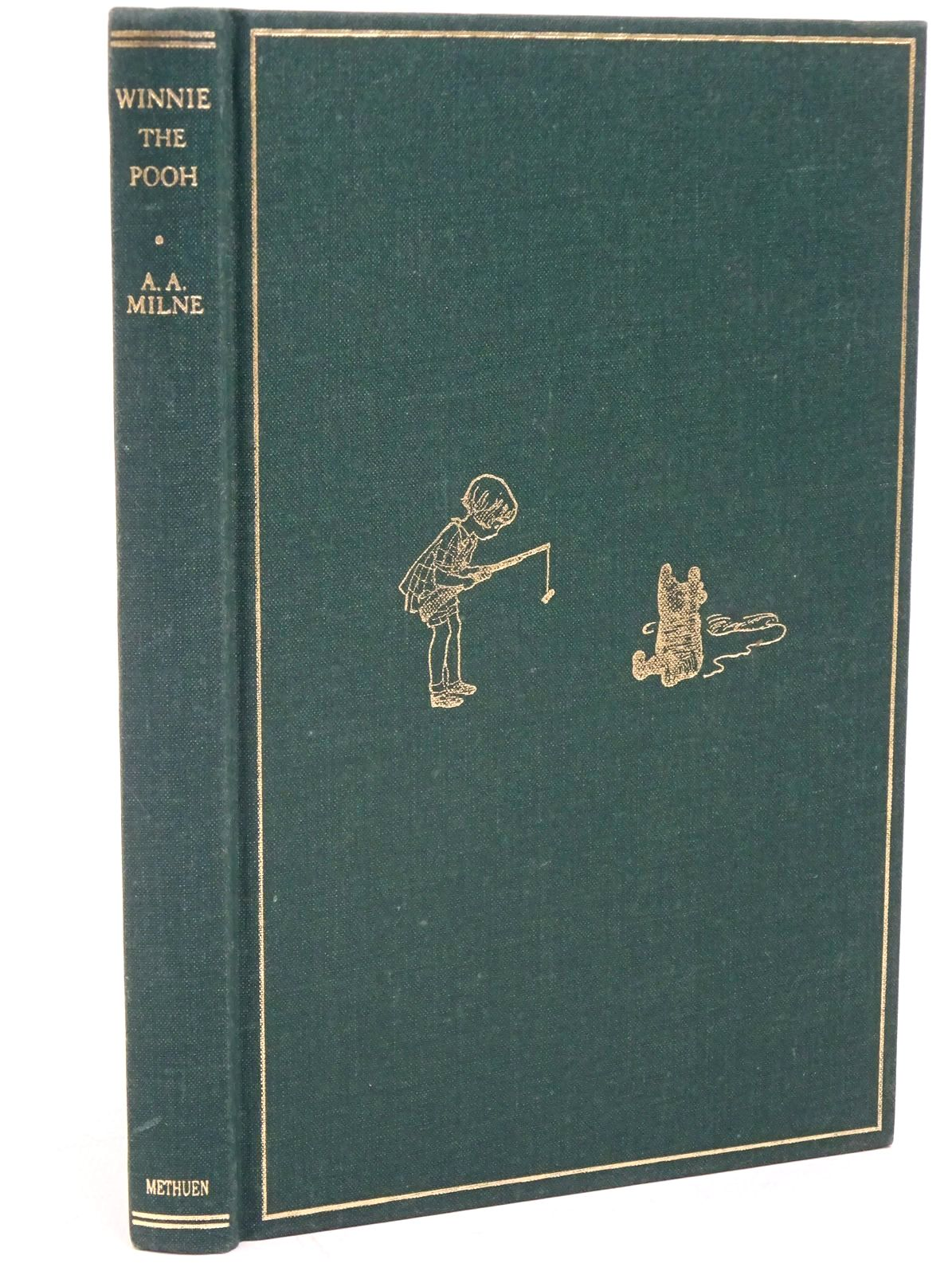 Photo of WINNIE-THE-POOH written by Milne, A.A. illustrated by Shepard, E.H. published by Methuen Children's Books (STOCK CODE: 1317807)  for sale by Stella & Rose's Books