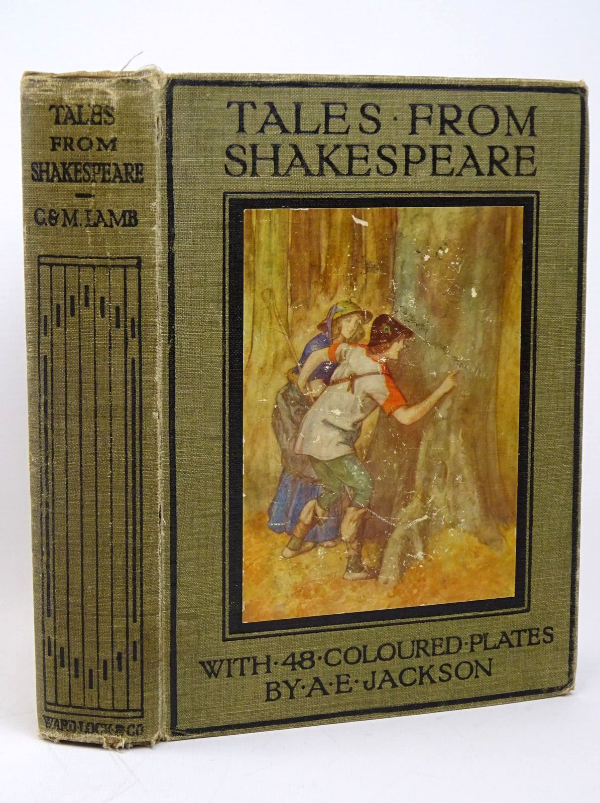 Photo of TALES FROM SHAKESPEARE written by Lamb, Charles<br />Lamb, Mary illustrated by Jackson, A.E. published by Ward, Lock & Co. Ltd. (STOCK CODE: 1317809)  for sale by Stella & Rose's Books