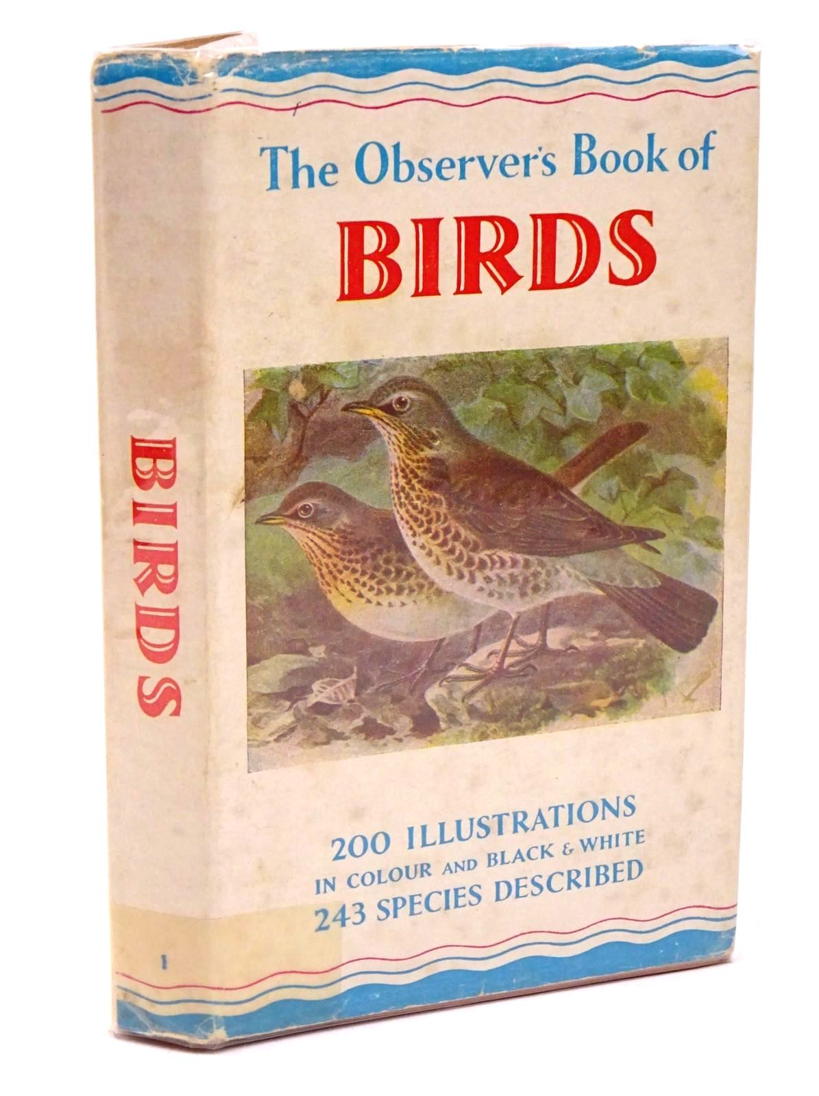 Photo of THE OBSERVER'S BOOK OF BIRDS