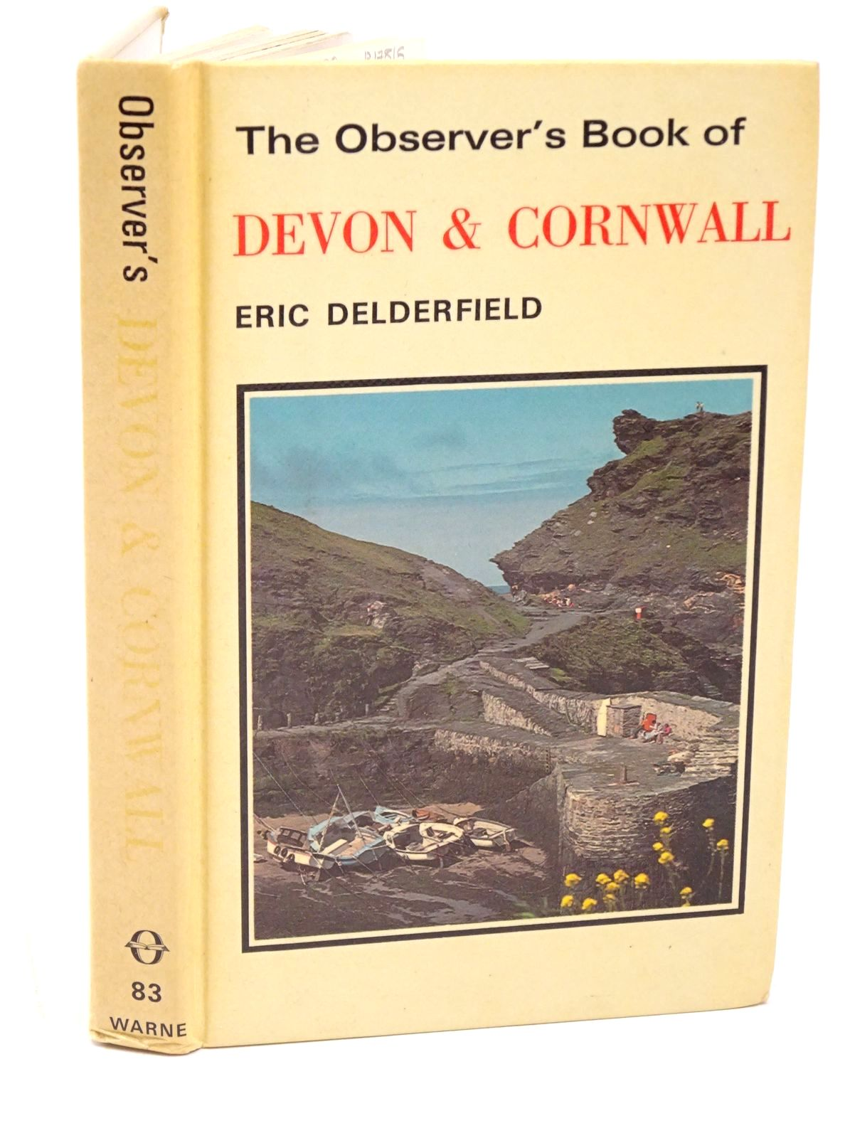 Photo of THE OBSERVER'S BOOK OF DEVON AND CORNWALL written by Delderfield, Eric R. published by Frederick Warne (STOCK CODE: 1317815)  for sale by Stella & Rose's Books