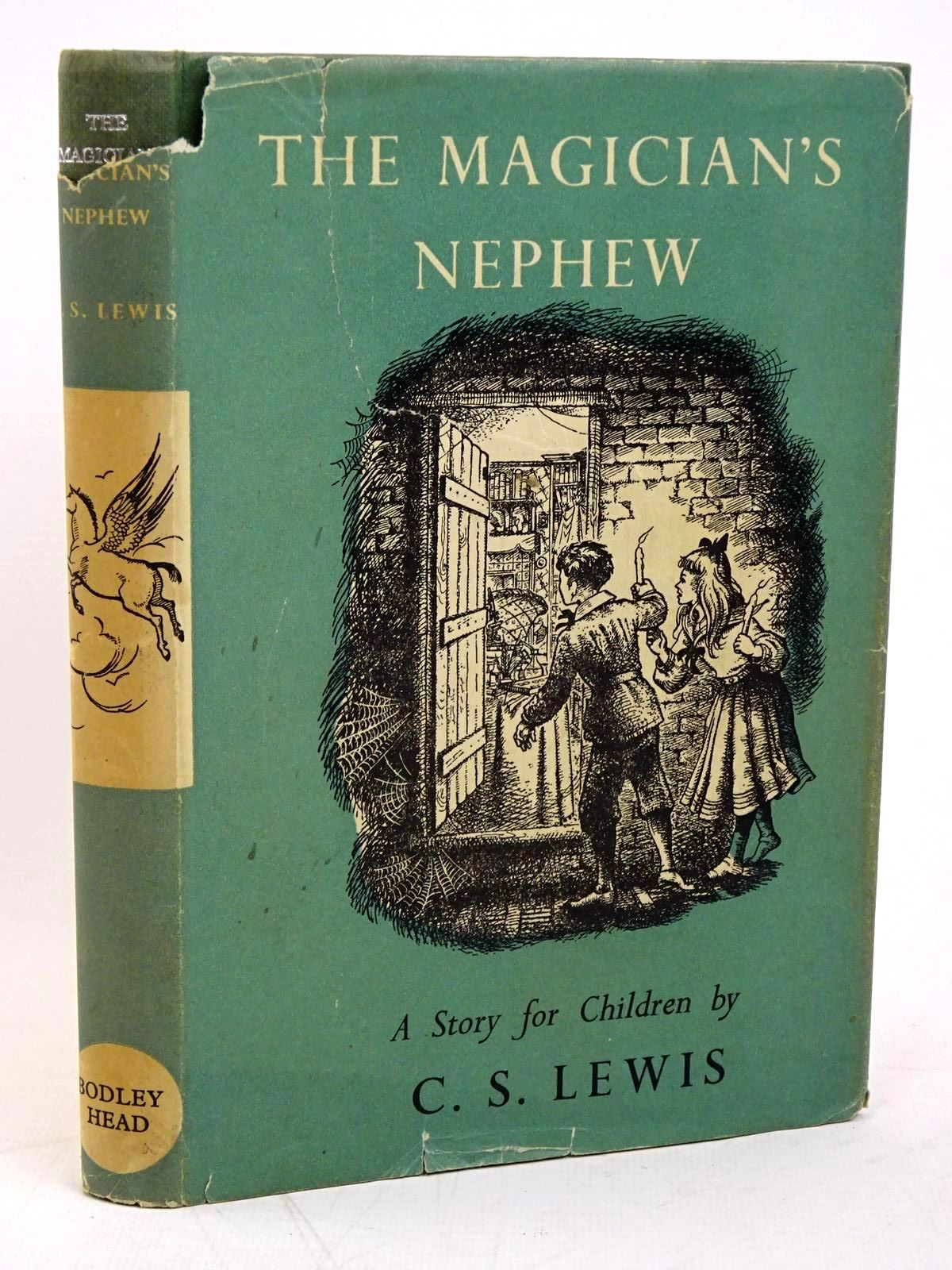 Photo of THE MAGICIAN'S NEPHEW written by Lewis, C.S. illustrated by Baynes, Pauline published by The Bodley Head (STOCK CODE: 1317869)  for sale by Stella & Rose's Books