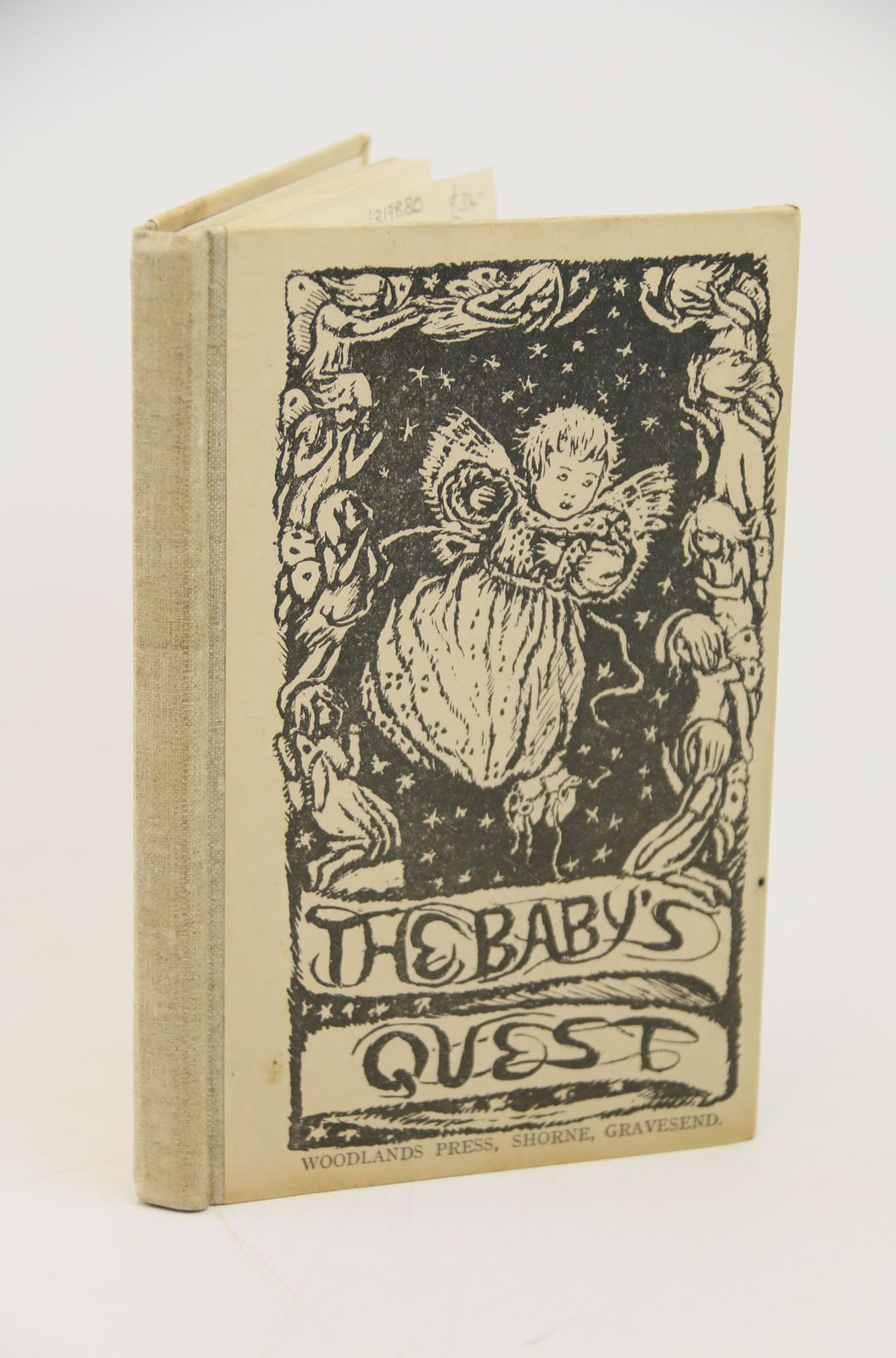 Photo of THE BABY'S QUEST written by Hallward, Mrs. Reginald illustrated by Hallward, Mrs. Reginald published by Woodlands Press (STOCK CODE: 1317880)  for sale by Stella & Rose's Books