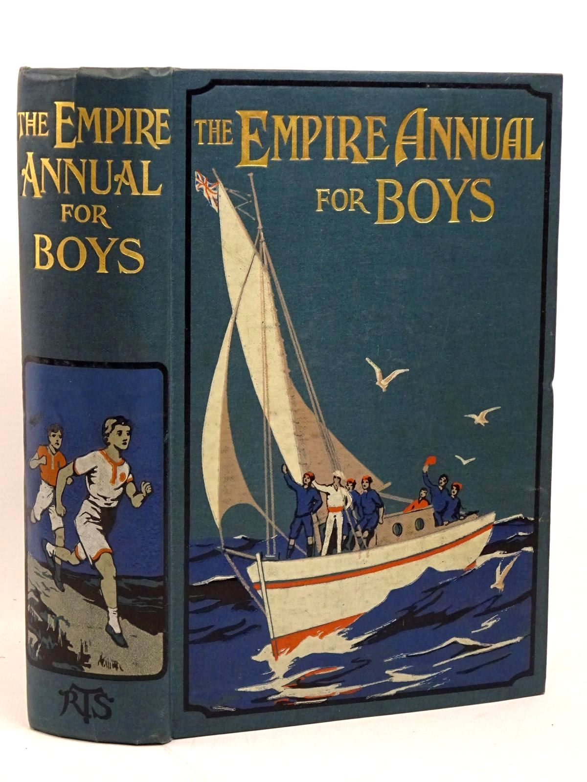Photo of THE EMPIRE ANNUAL FOR BOYS written by Buckland, A.R.<br />Hyatt, Stanley Portal<br />Reed, Talbot Baines<br />Whymper, F.<br />et al, published by The Religious Tract Society (STOCK CODE: 1317898)  for sale by Stella & Rose's Books