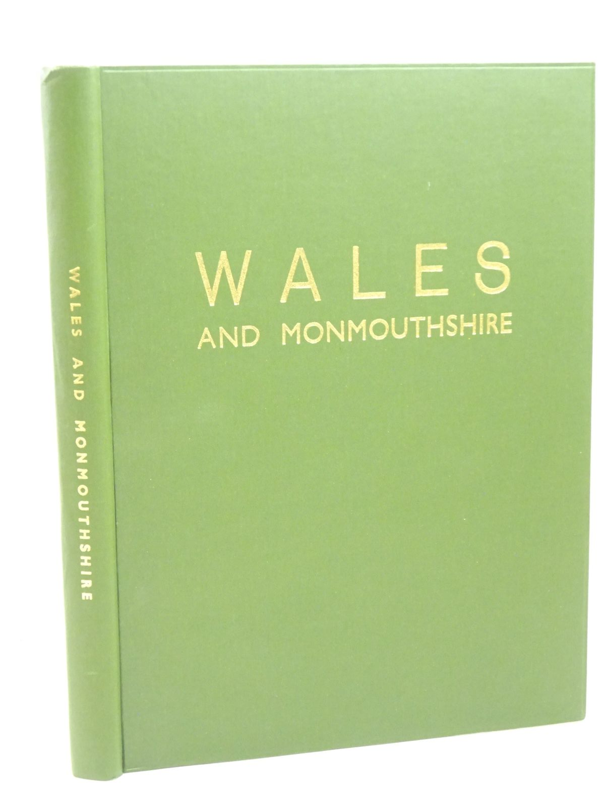 Photo of WALES AND MONMOUTHSHIRE written by Davies, D.J.<br />et al, published by Ed. J. Burrow & Co. Ltd. (STOCK CODE: 1317976)  for sale by Stella & Rose's Books