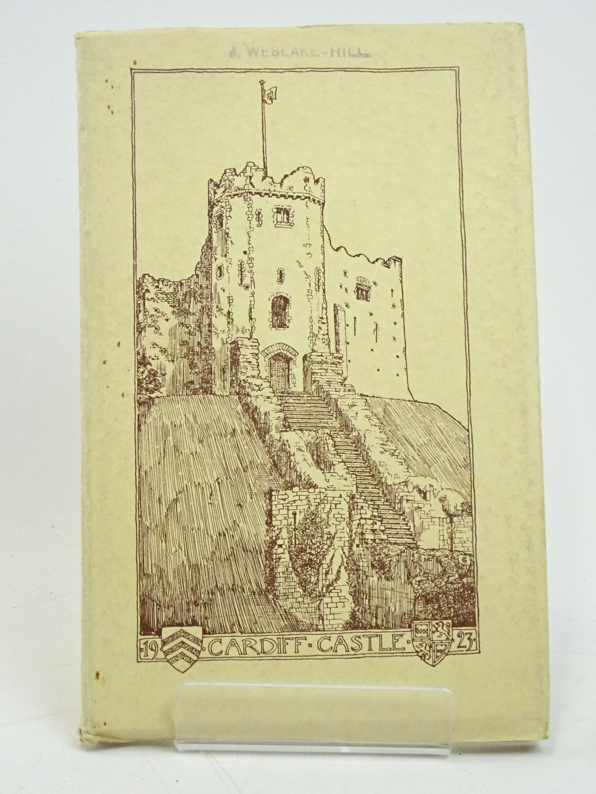 Photo of CARDIFF CASTLE ITS HISTORY AND ARCHITECTURE written by Grant, John P. published by William Lewis (STOCK CODE: 1317978)  for sale by Stella & Rose's Books