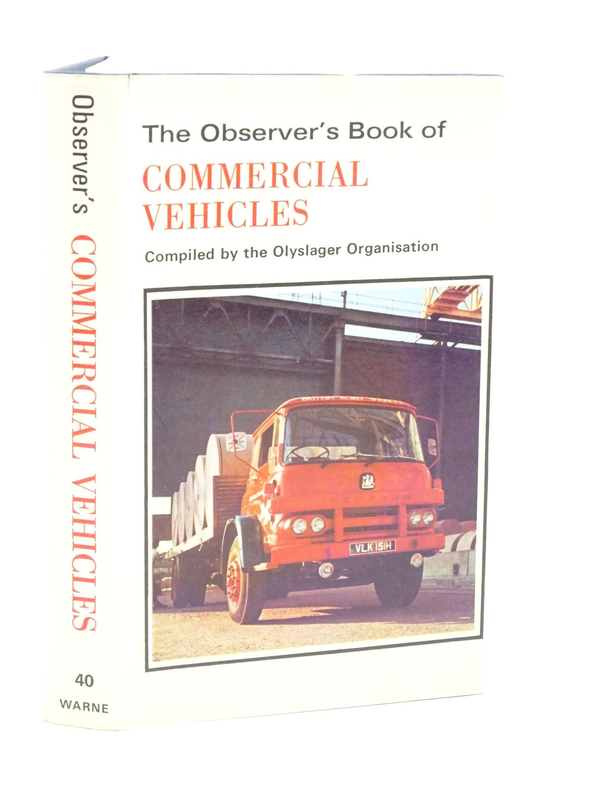 Photo of THE OBSERVER'S BOOK OF COMMERCIAL VEHICLES