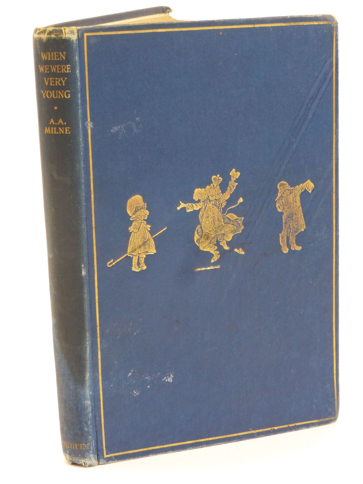Photo of WHEN WE WERE VERY YOUNG written by Milne, A.A. illustrated by Shepard, E.H. published by Methuen & Co. Ltd. (STOCK CODE: 1318042)  for sale by Stella & Rose's Books