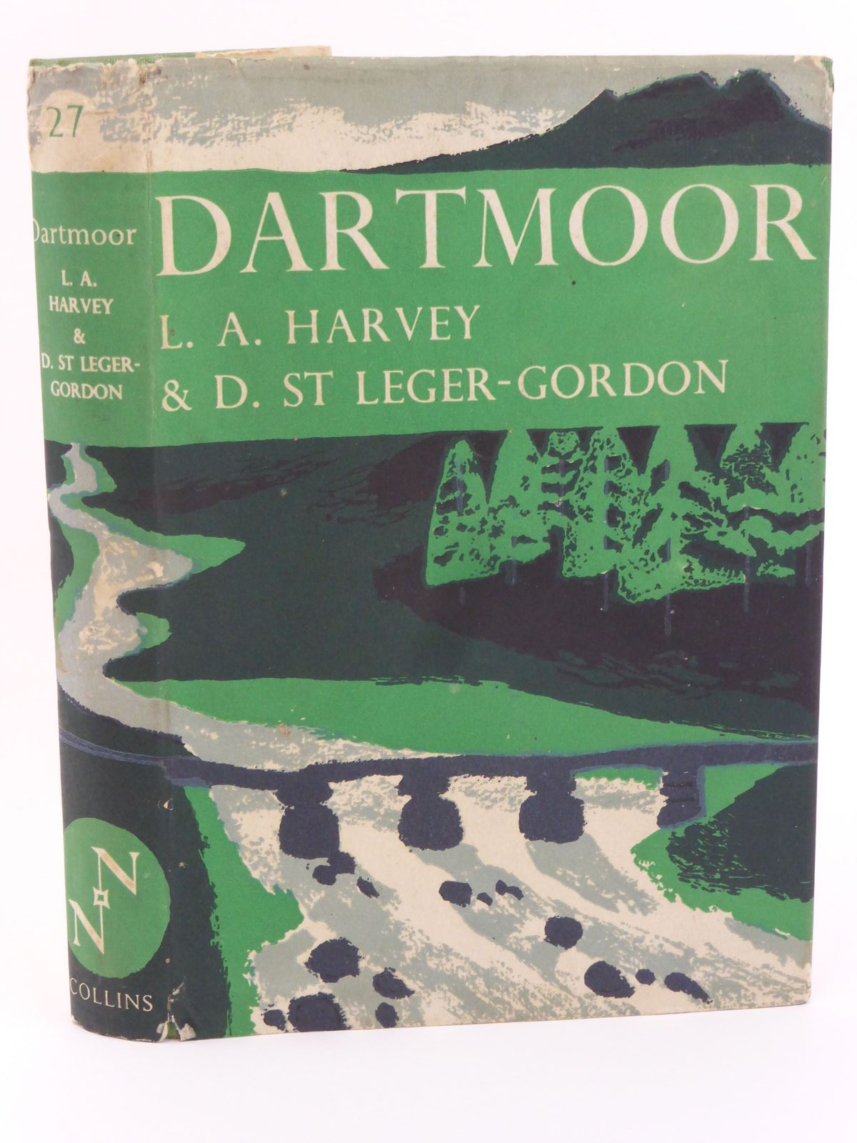 Photo of DARTMOOR (NN 27) written by Harvey, L.A.<br />St. Leger-Gordon, Douglas published by Collins (STOCK CODE: 1318043)  for sale by Stella & Rose's Books