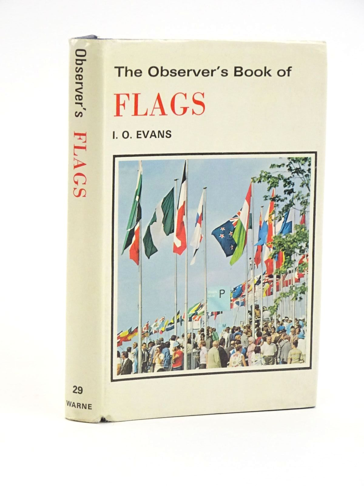 Photo of THE OBSERVER'S BOOK OF FLAGS written by Evans, I.O. published by Frederick Warne & Co Ltd. (STOCK CODE: 1318054)  for sale by Stella & Rose's Books