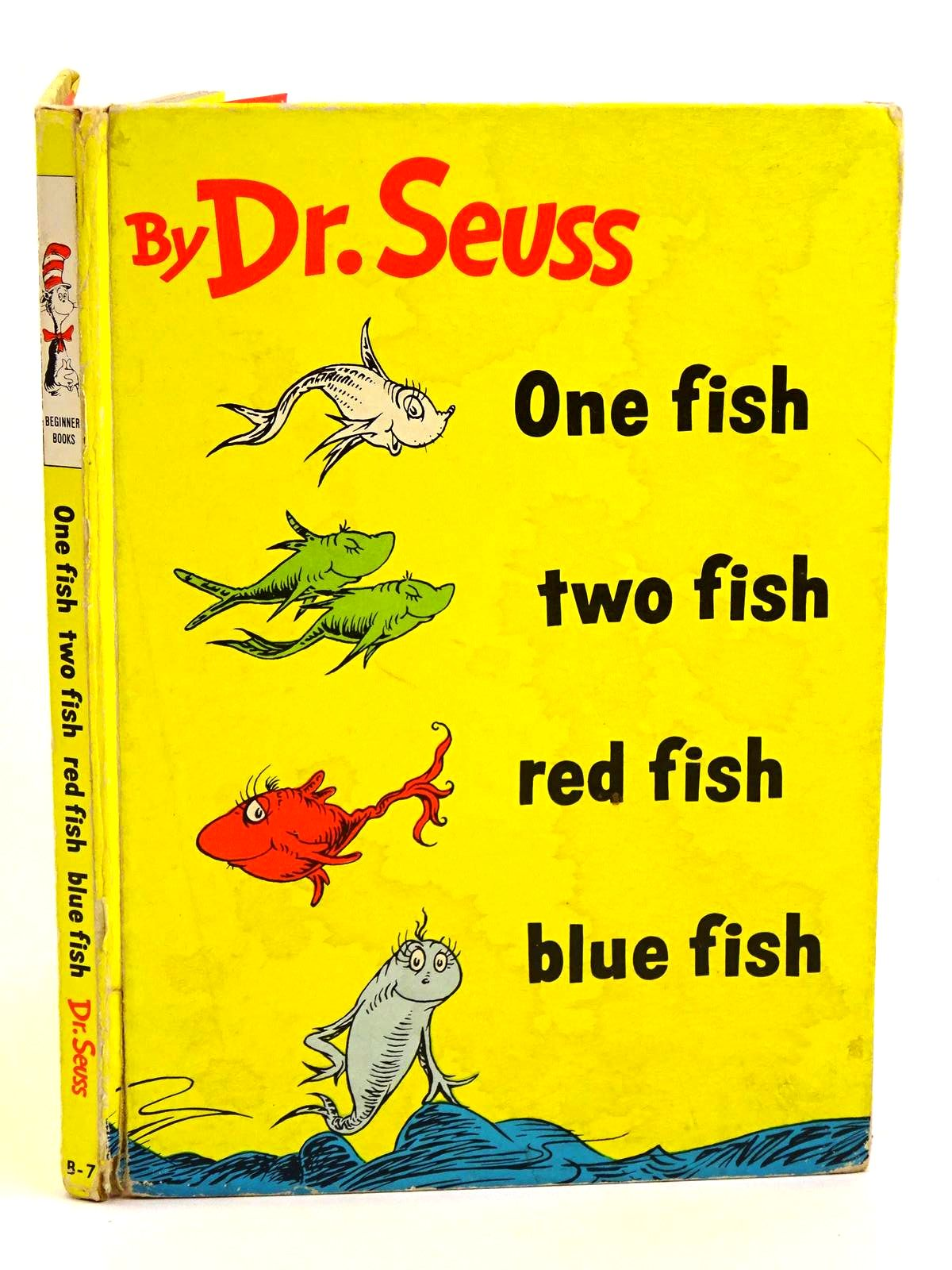 Photo of ONE FISH, TWO FISH, RED FISH, BLUE FISH written by Seuss, Dr. illustrated by Seuss, Dr. published by Collins & Harvill (STOCK CODE: 1318089)  for sale by Stella & Rose's Books