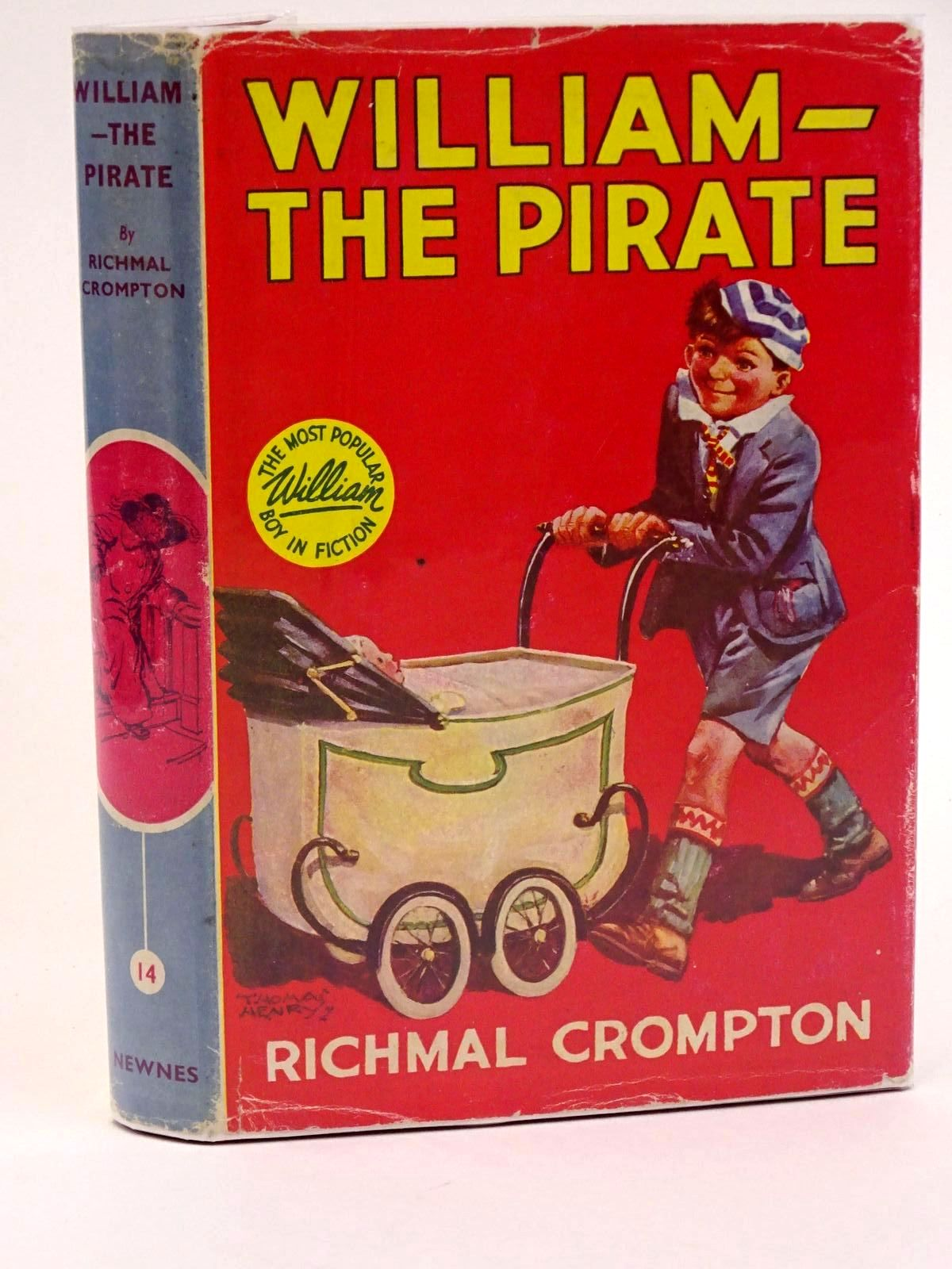 Photo of WILLIAM THE PIRATE written by Crompton, Richmal illustrated by Henry, Thomas published by George Newnes Limited (STOCK CODE: 1318093)  for sale by Stella & Rose's Books