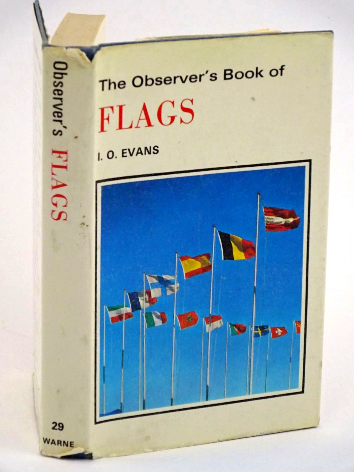 Photo of THE OBSERVER'S BOOK OF FLAGS written by Evans, I.O. published by Frederick Warne & Co Ltd. (STOCK CODE: 1318116)  for sale by Stella & Rose's Books