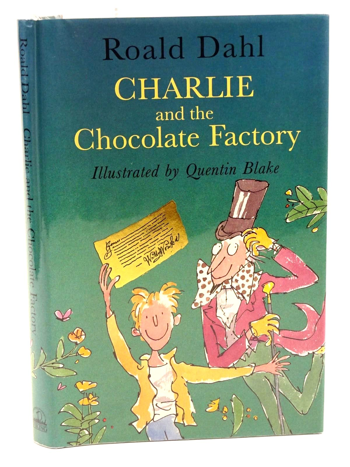 Photo of CHARLIE AND THE CHOCOLATE FACTORY written by Dahl, Roald illustrated by Blake, Quentin published by Viking (STOCK CODE: 1318123)  for sale by Stella & Rose's Books