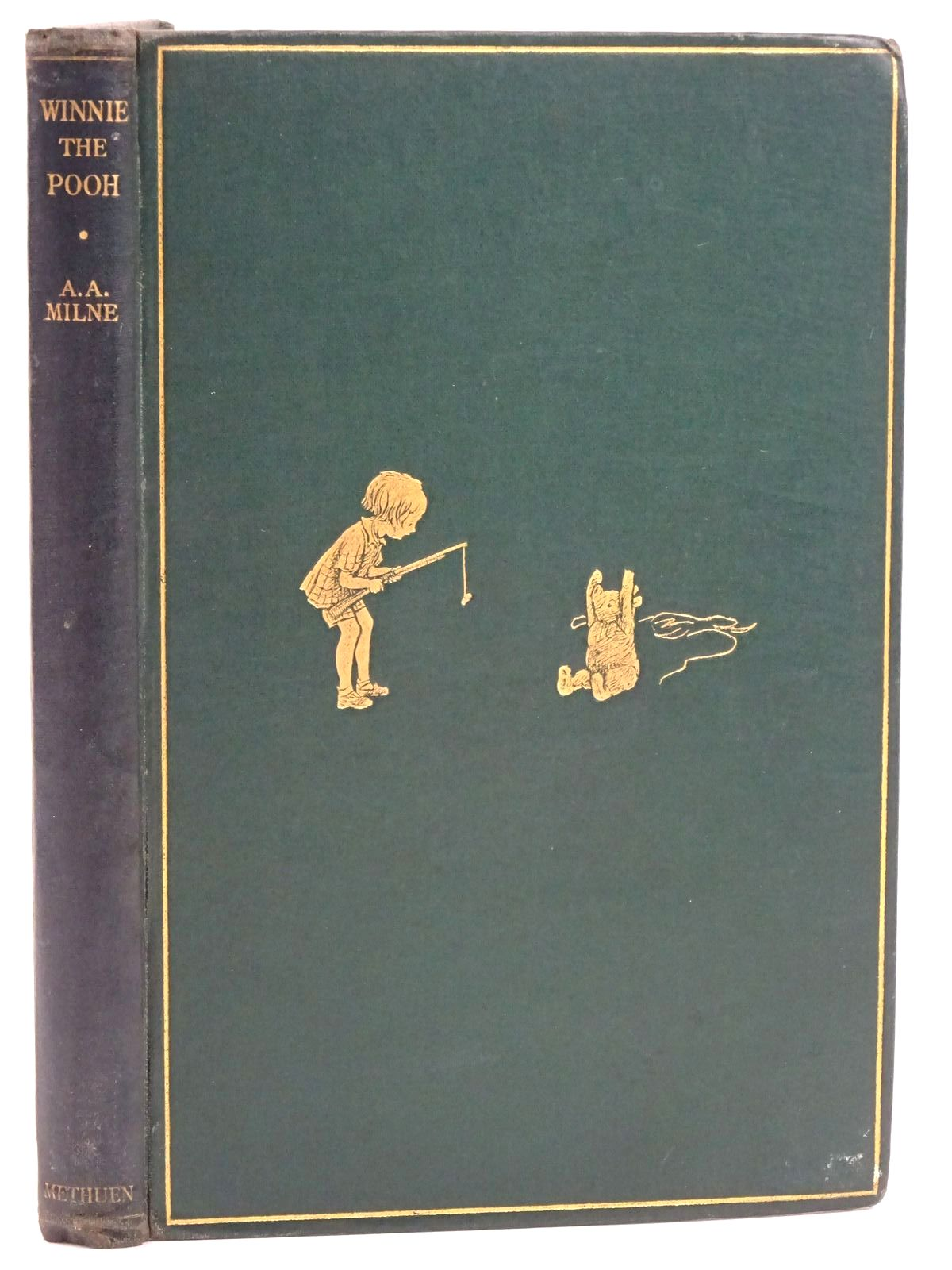 Photo of WINNIE-THE-POOH written by Milne, A.A. illustrated by Shepard, E.H. published by Methuen & Co. Ltd. (STOCK CODE: 1318174)  for sale by Stella & Rose's Books