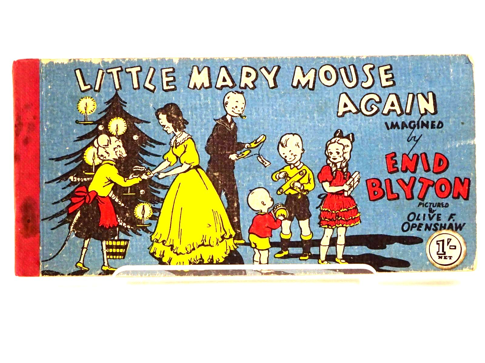 Photo of LITTLE MARY MOUSE AGAIN written by Blyton, Enid illustrated by Openshaw, Olive F. published by Brockhampton Press Ltd. (STOCK CODE: 1318218)  for sale by Stella & Rose's Books