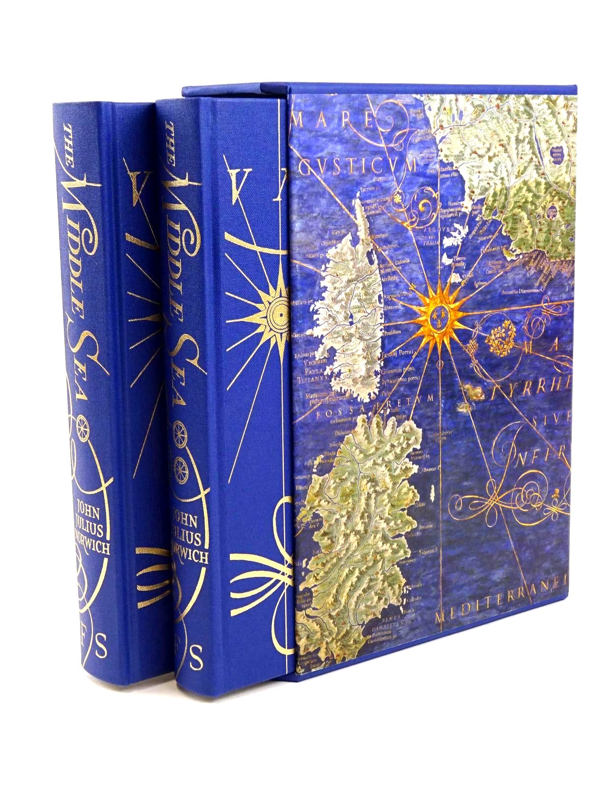 Photo of THE MIDDLE SEA written by Norwich, John Julius published by Folio Society (STOCK CODE: 1318280)  for sale by Stella & Rose's Books