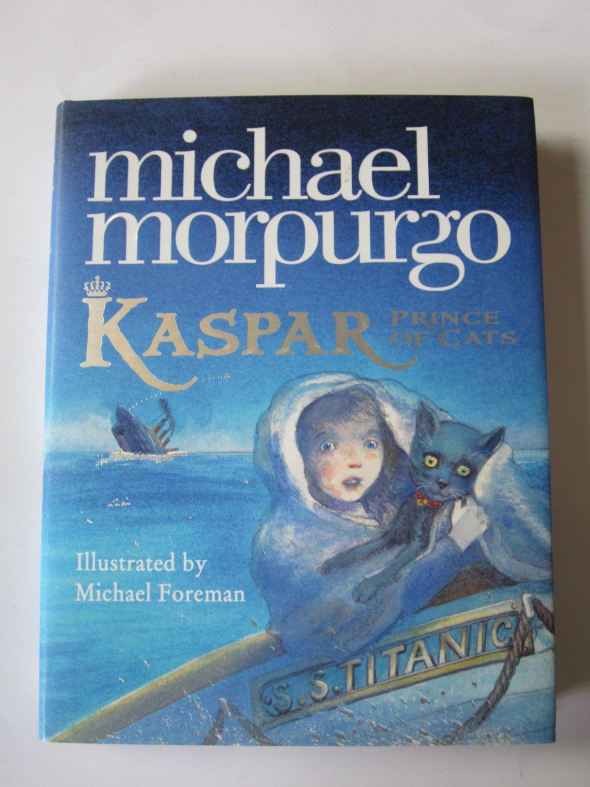 Photo of KASPAR PRINCE OF CATS written by Morpurgo, Michael illustrated by Foreman, Michael published by Harper Collins (STOCK CODE: 1401215)  for sale by Stella & Rose's Books