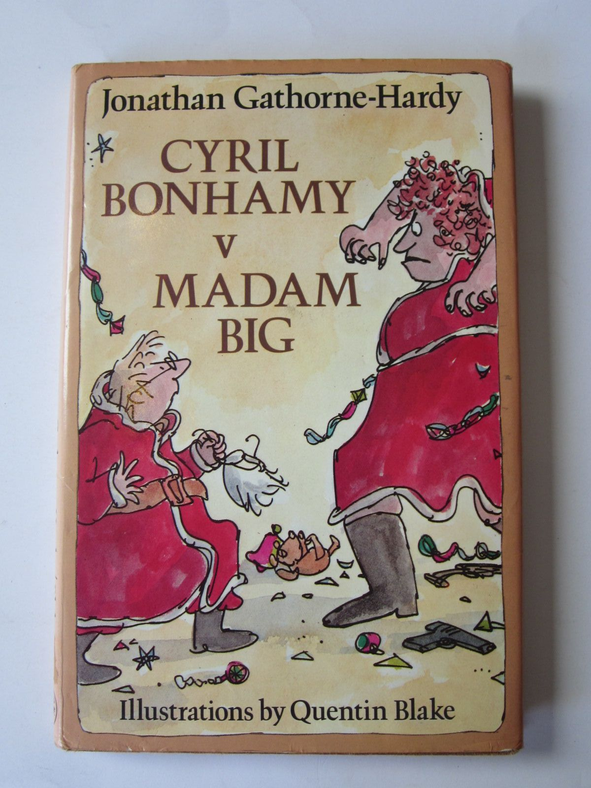 Photo of CYRIL BONHAMY V MADAM BIG written by Gathorne-Hardy, Jonathan illustrated by Blake, Quentin published by Jonathan Cape (STOCK CODE: 1401220)  for sale by Stella & Rose's Books