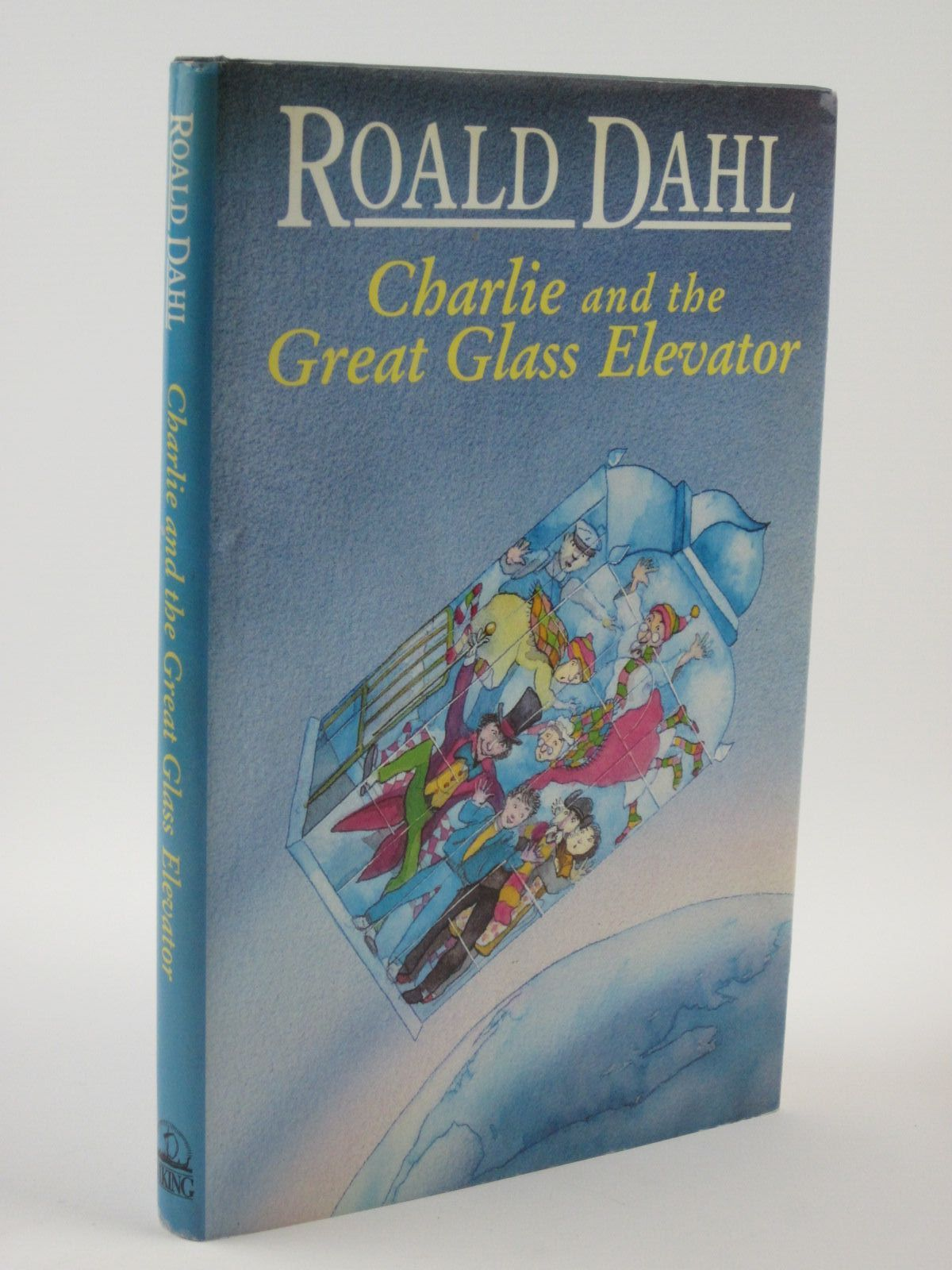 Photo of CHARLIE AND THE GREAT GLASS ELEVATOR written by Dahl, Roald illustrated by Foreman, Michael published by Viking (STOCK CODE: 1401402)  for sale by Stella & Rose's Books